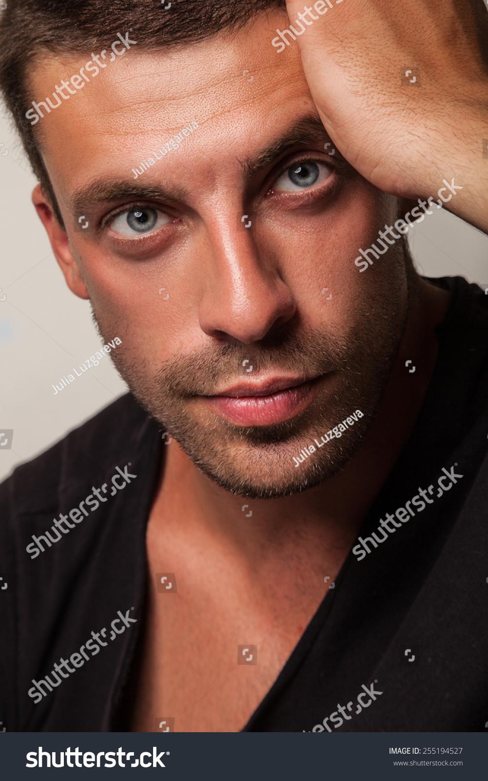 Man Good Physical Shape Beautiful Body Stock Photo Edit Now