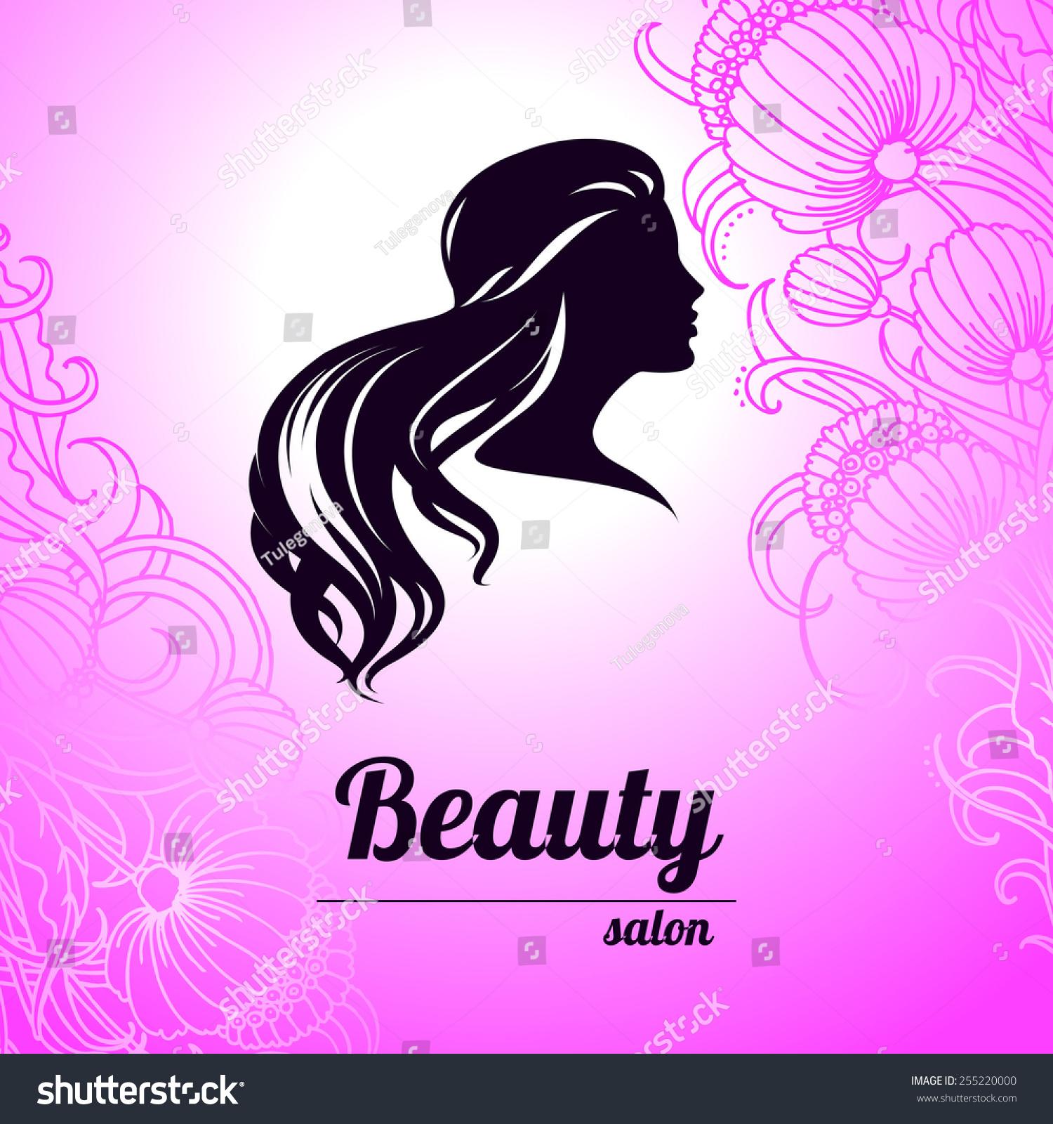 Design Business Card Hair Beauty Salon Stock Vector 255220000 ...