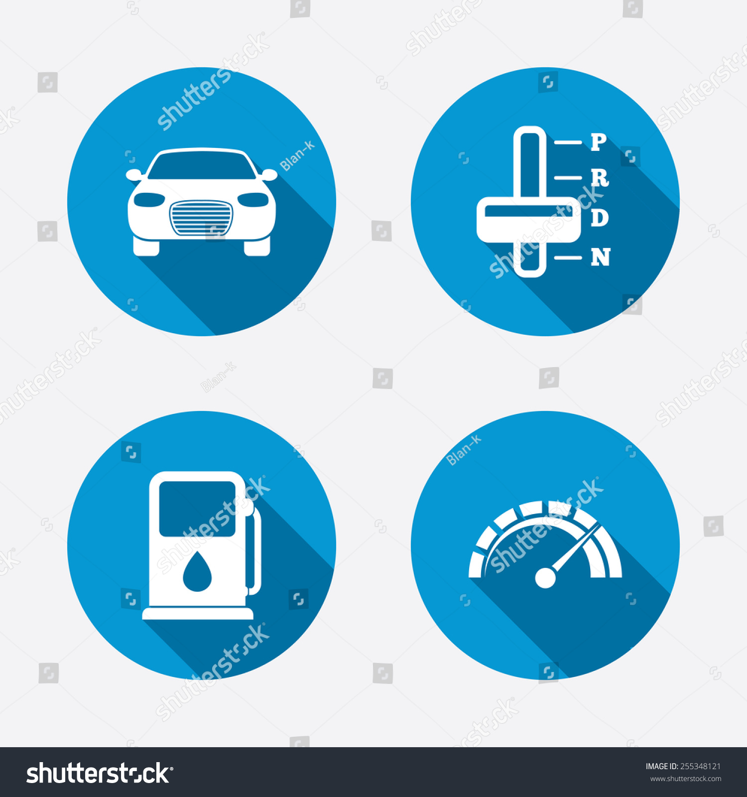 Automatic Transmission Symbols Images