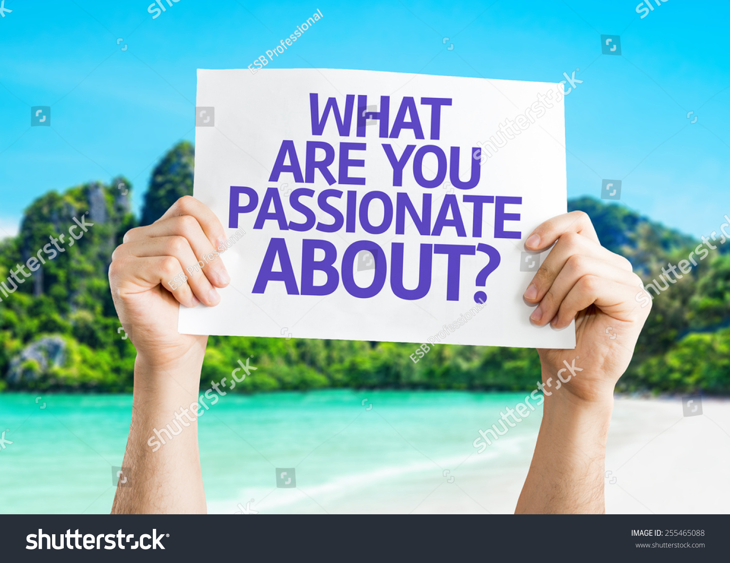 what are you passionate about card beach background stock what are you passionate about card beach background