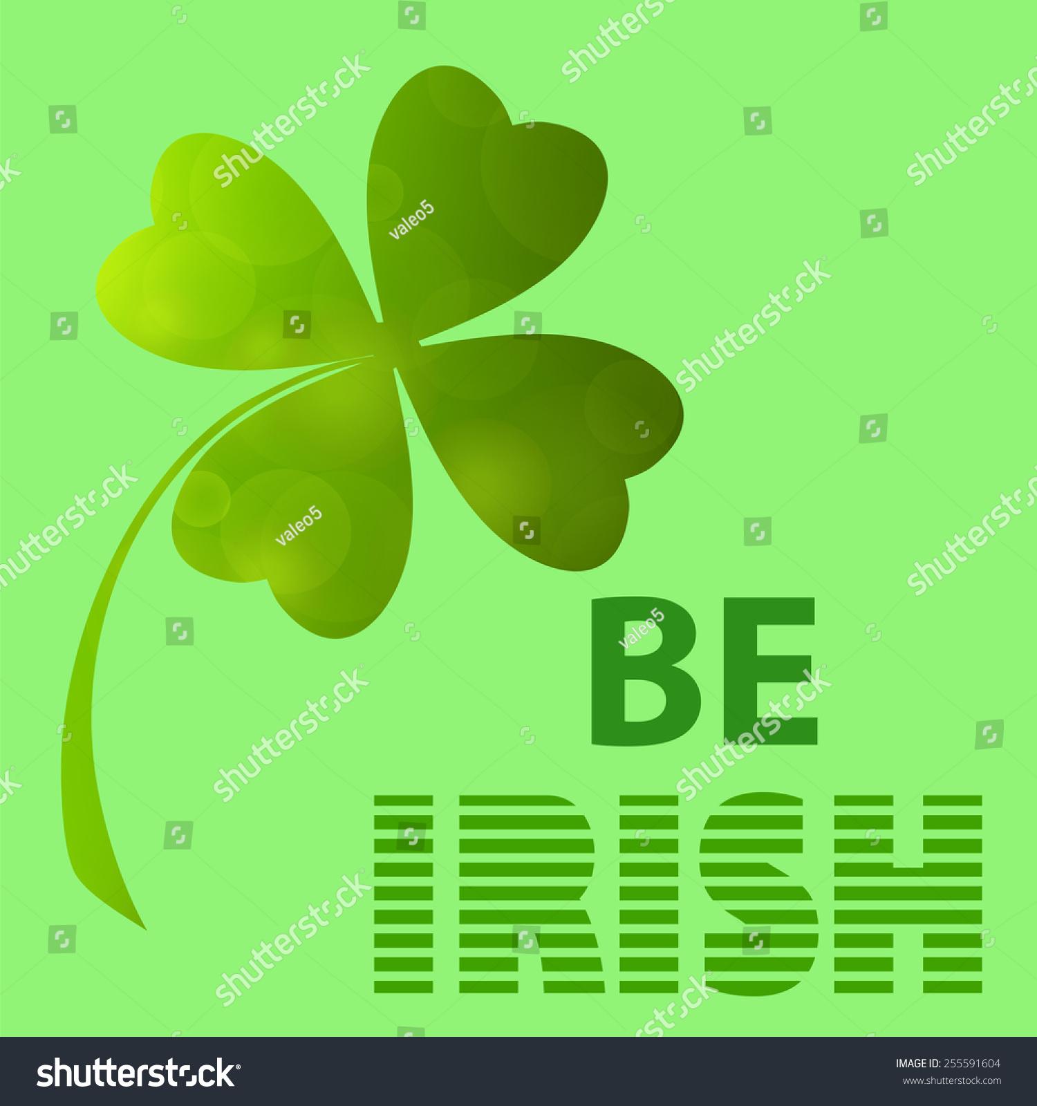 Four leaf clover irish shamrock st stock illustration 255591604 four leaf clover irish shamrock st stock illustration 255591604 shutterstock biocorpaavc Gallery