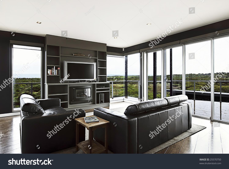 modern luxury home interior living area stock photo edit now