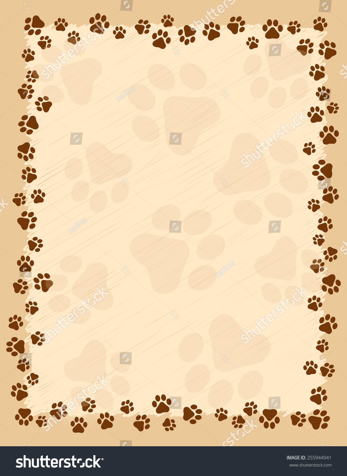 dog bone and paw border dog related stamps new fashions