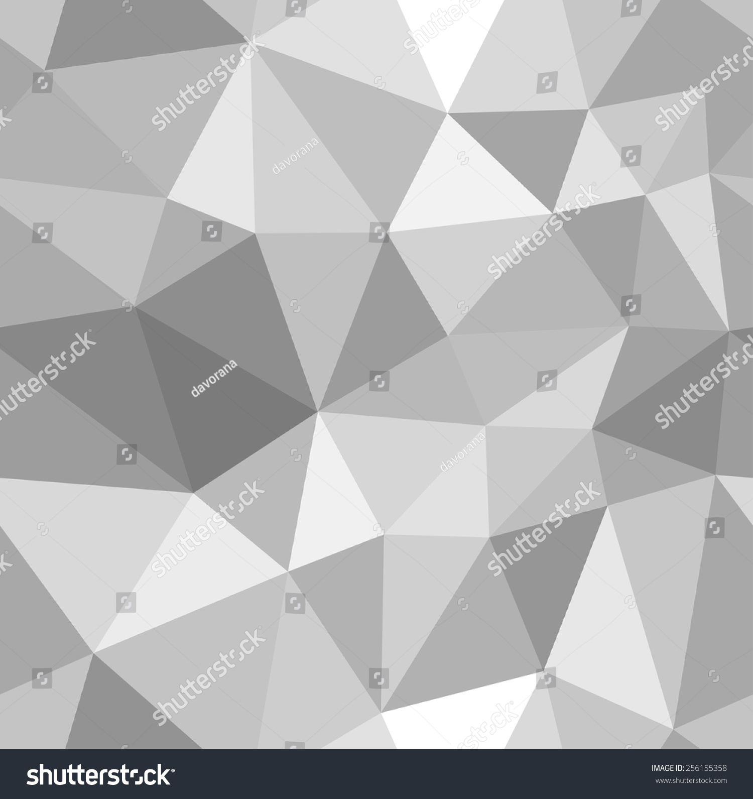 Different Shades Of Gray 3d abstract shining ice cubes vector stock vector 256155358
