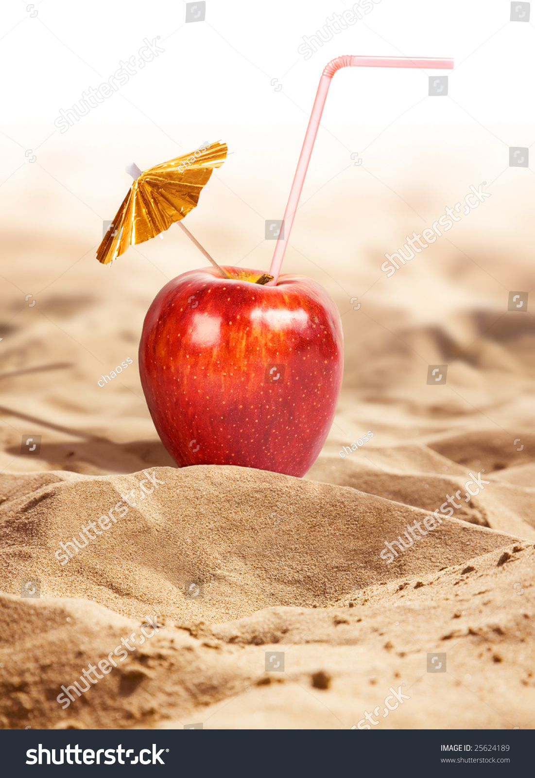 Apple Cocktail Hot Desert Stock Photo Shutterstock - A hot desert