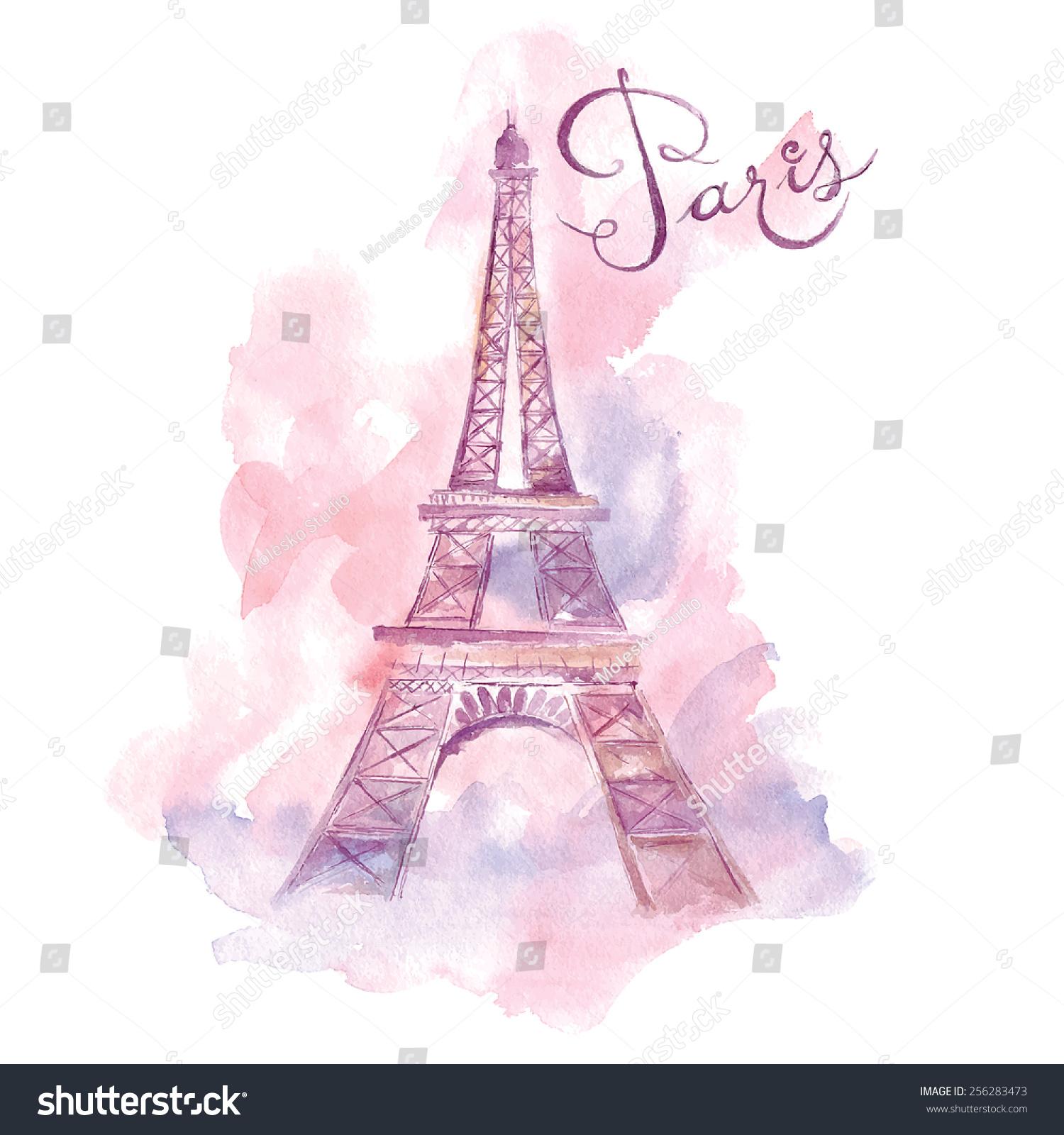 Paris Illustration: Paris. Vector Illustration