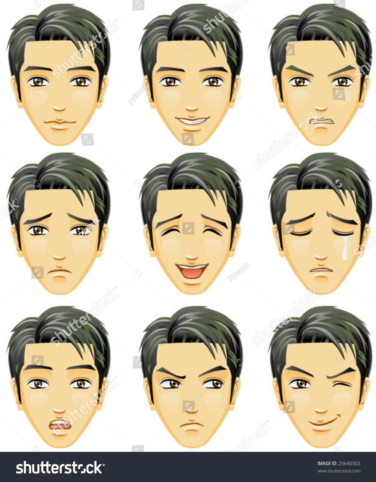 Experience chinese appropriate facial expressions they also