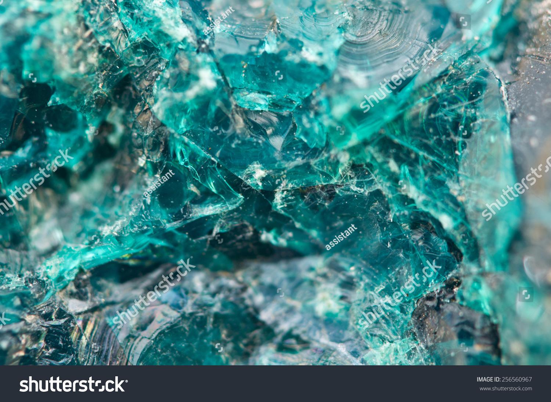 Chrysocolla Hydrated Copper Cyclosilicatecyan Bluegreen