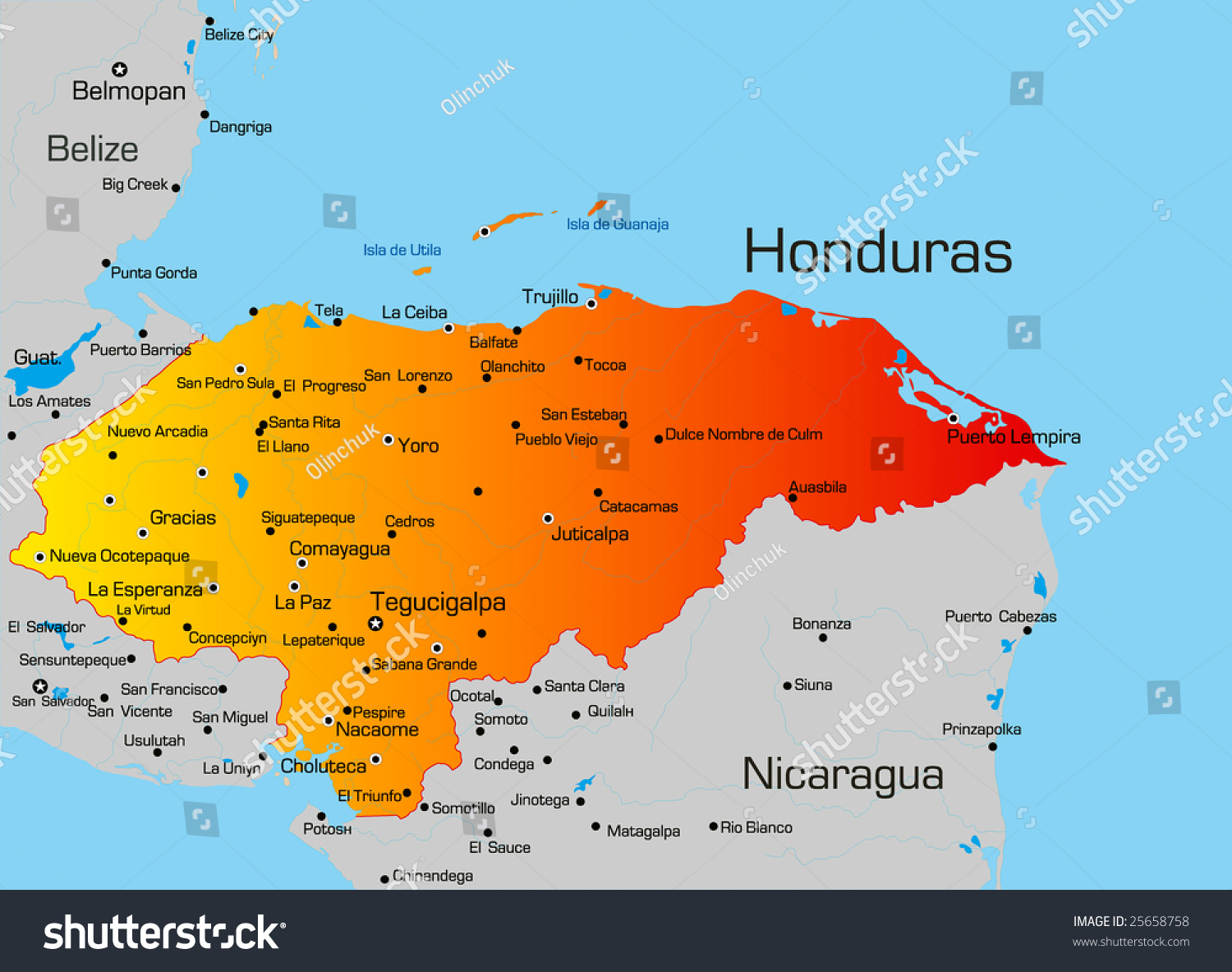 central america outline map free html with Stock Vector Vector Color Map Of Honduras Country on Stock Vector Map Of The Republic Of Colombia With The Regions Colored In Bright Colors And The Main Cities further Lit41832006syllabus additionally World Map Without Names also Stock Illustration North America Blind Map additionally Map Of Japan Cities English.