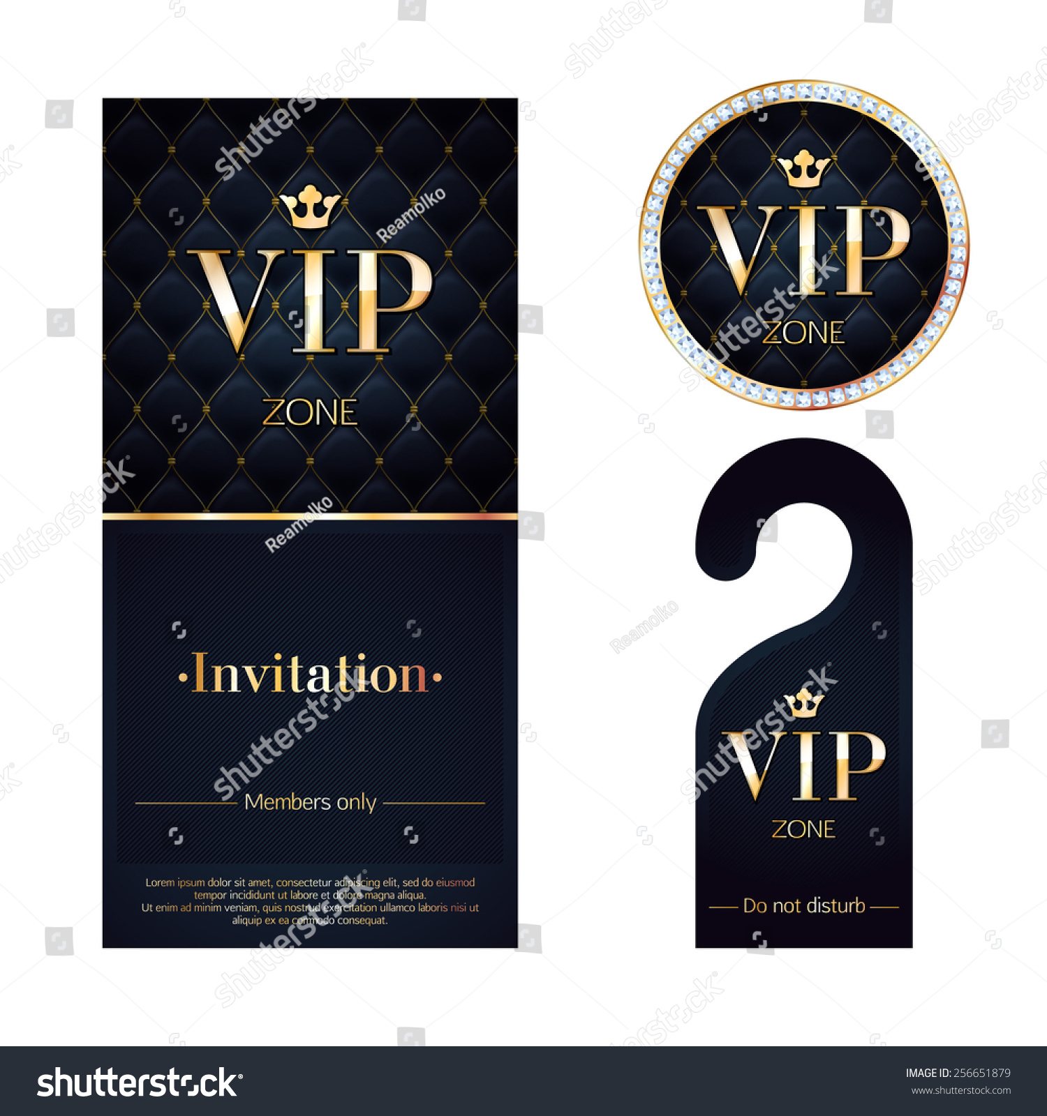 Invitation Vip with beautiful invitations example