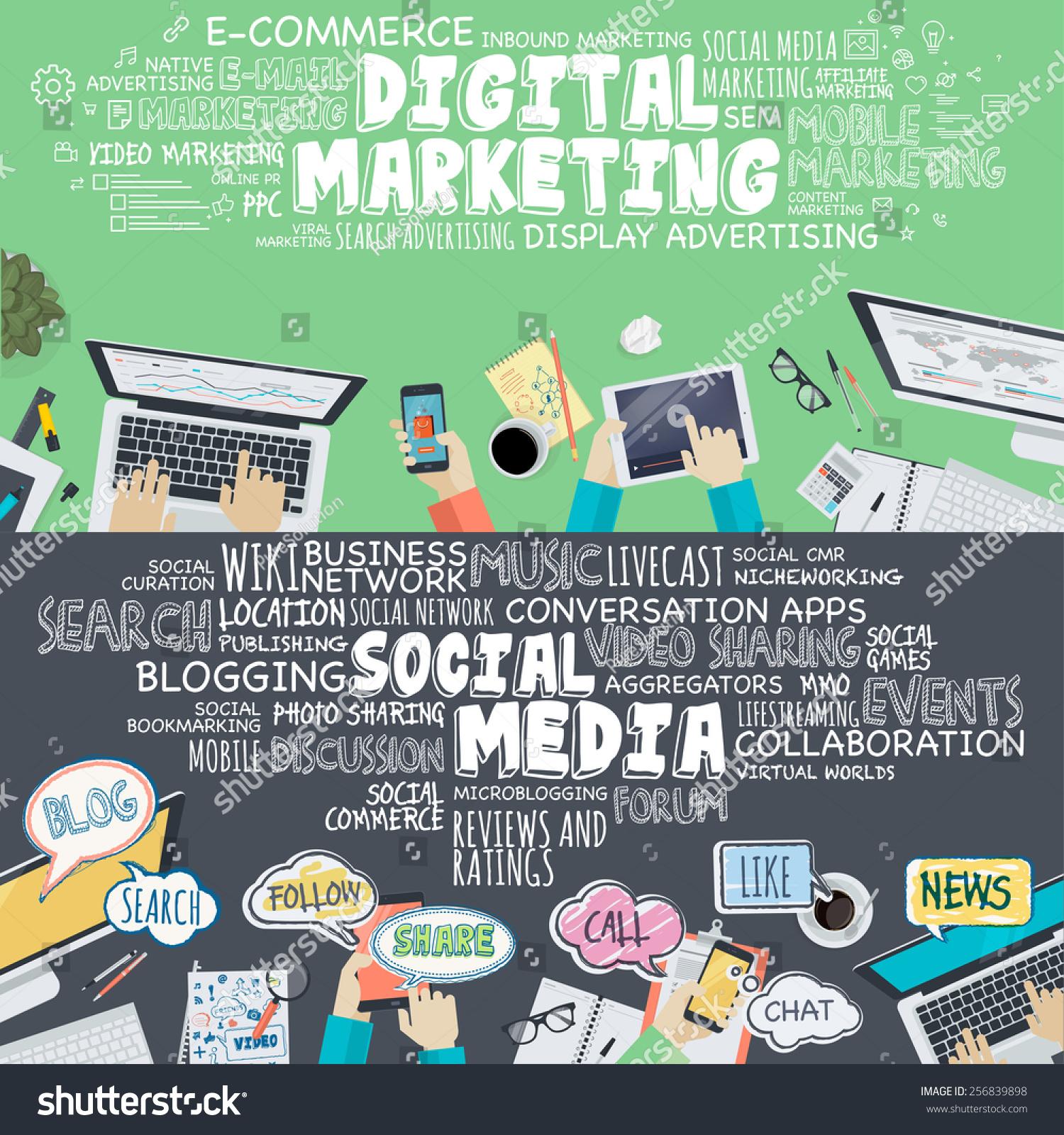 Online image photo editor shutterstock editor for Digital marketing materials