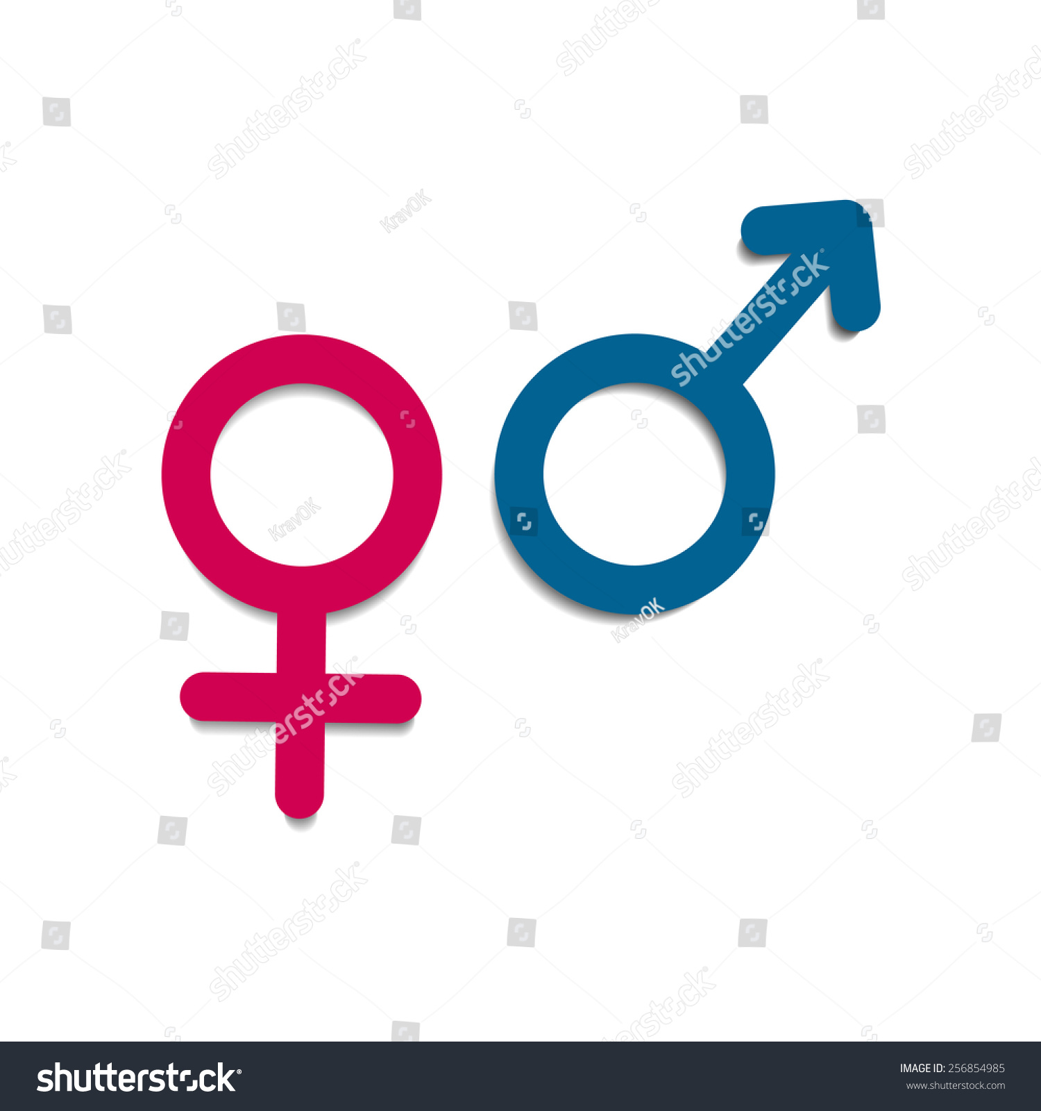 Vector symbols gender male female mars stock vector 256854985 vector symbols of gender male female mars venus buycottarizona