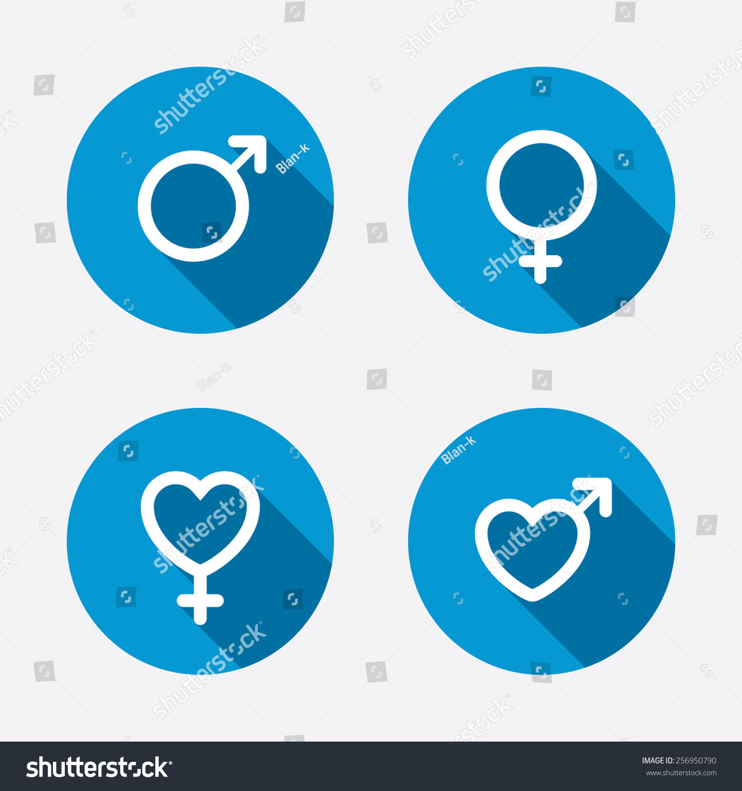 Girls bathroom sign outline - Man And Woman Signs With Hearts Symbols Circle Concept