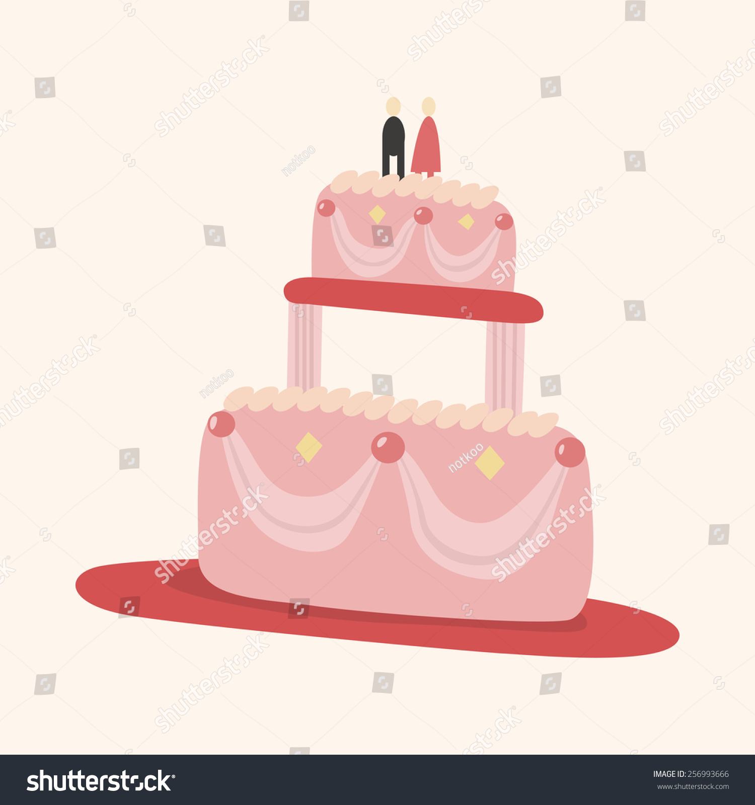 Cake Decorating Stock Images : Decorating Cake Theme Elements Vectoreps10 Stock Vector ...