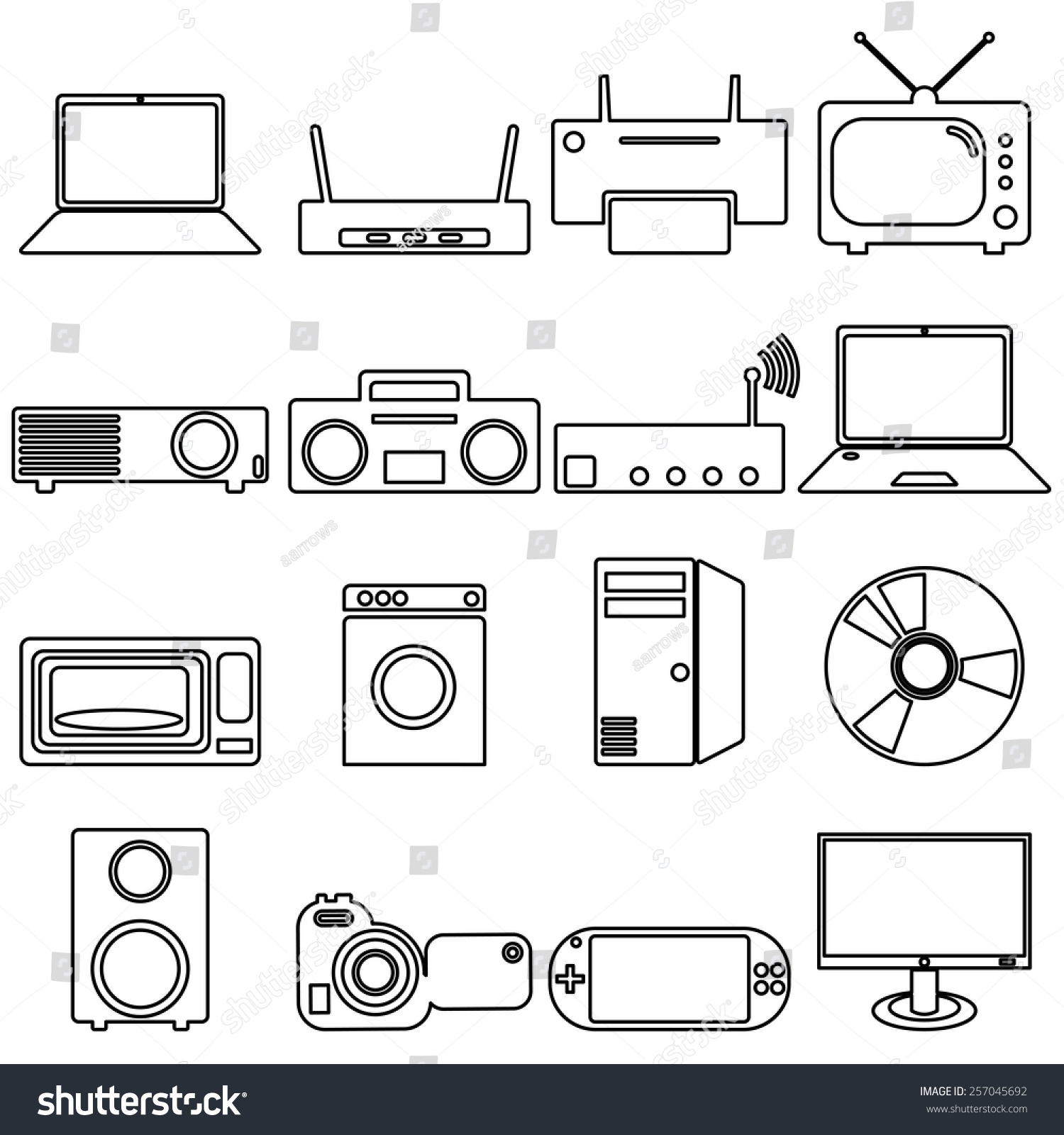 Magnificent Symbols Of Electrical Devices Picture Collection