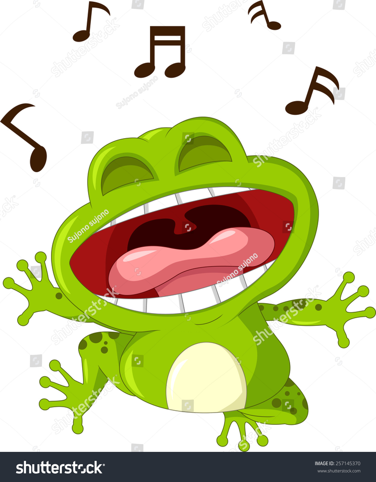 поющая жаба картинки ведут преимущественно ночной