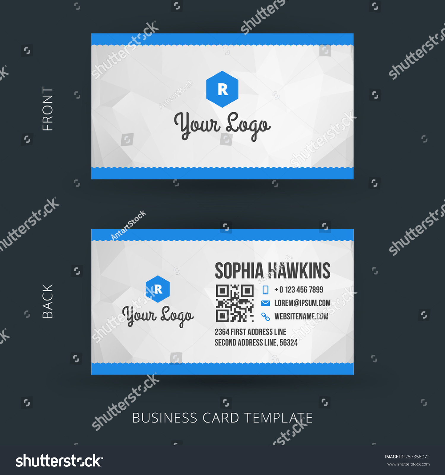 Business Card Template For Google Docs