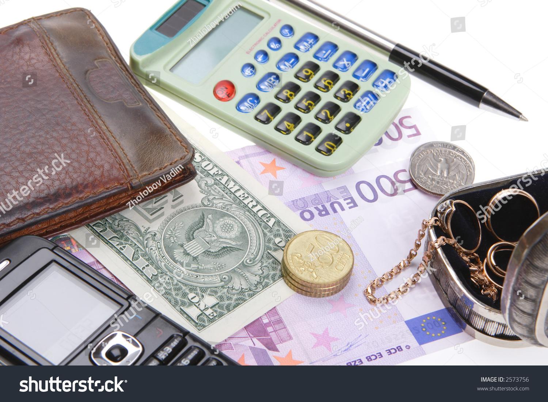 still life calculator money valuables stock photo (edit now) 2573756