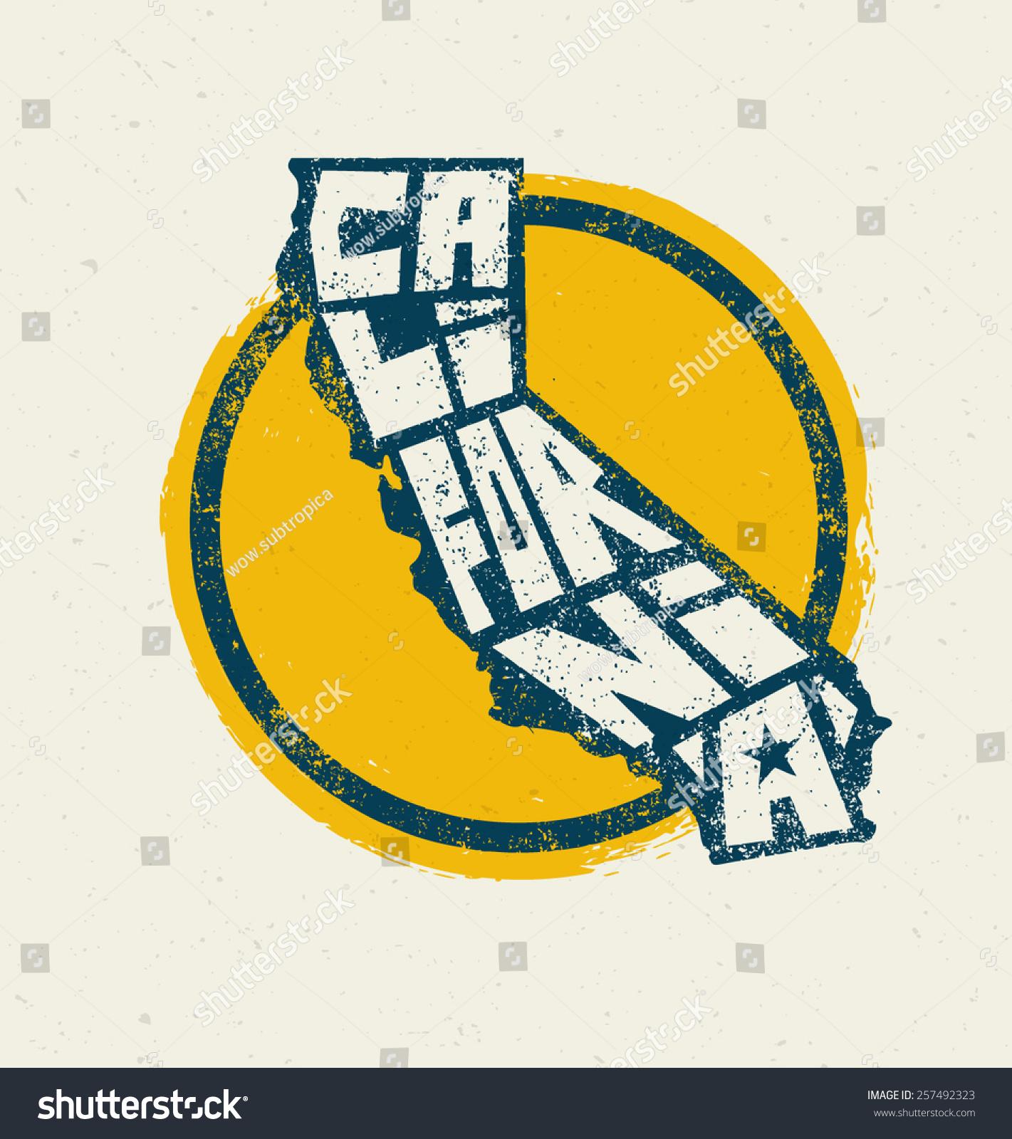 California state tshirt print vector concept stock vector california state t shirt print vector concept creative lettering design element buycottarizona
