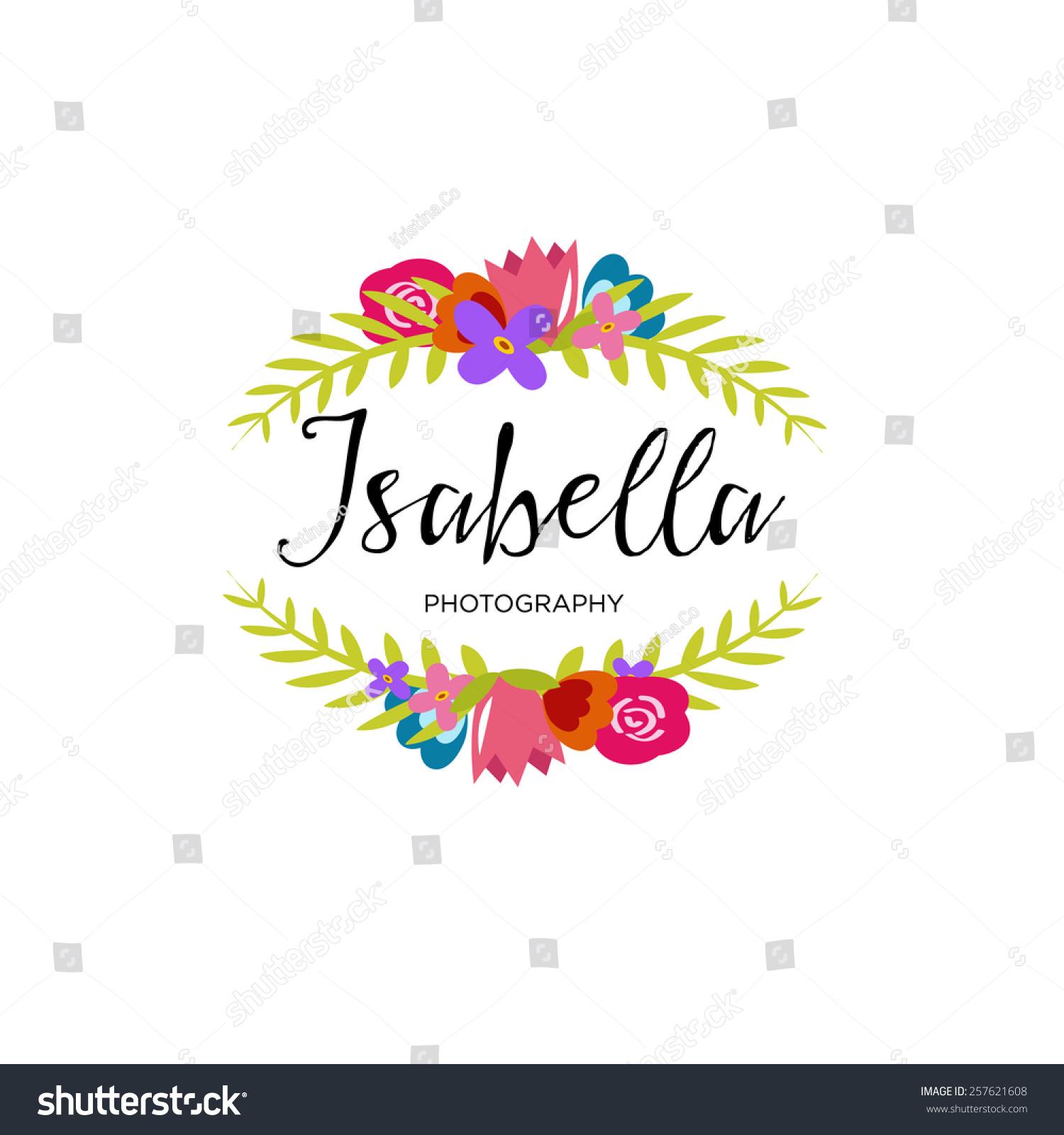 -vector-premade-logo-design-calligraphy-logo-floral-logo-design-logo ...