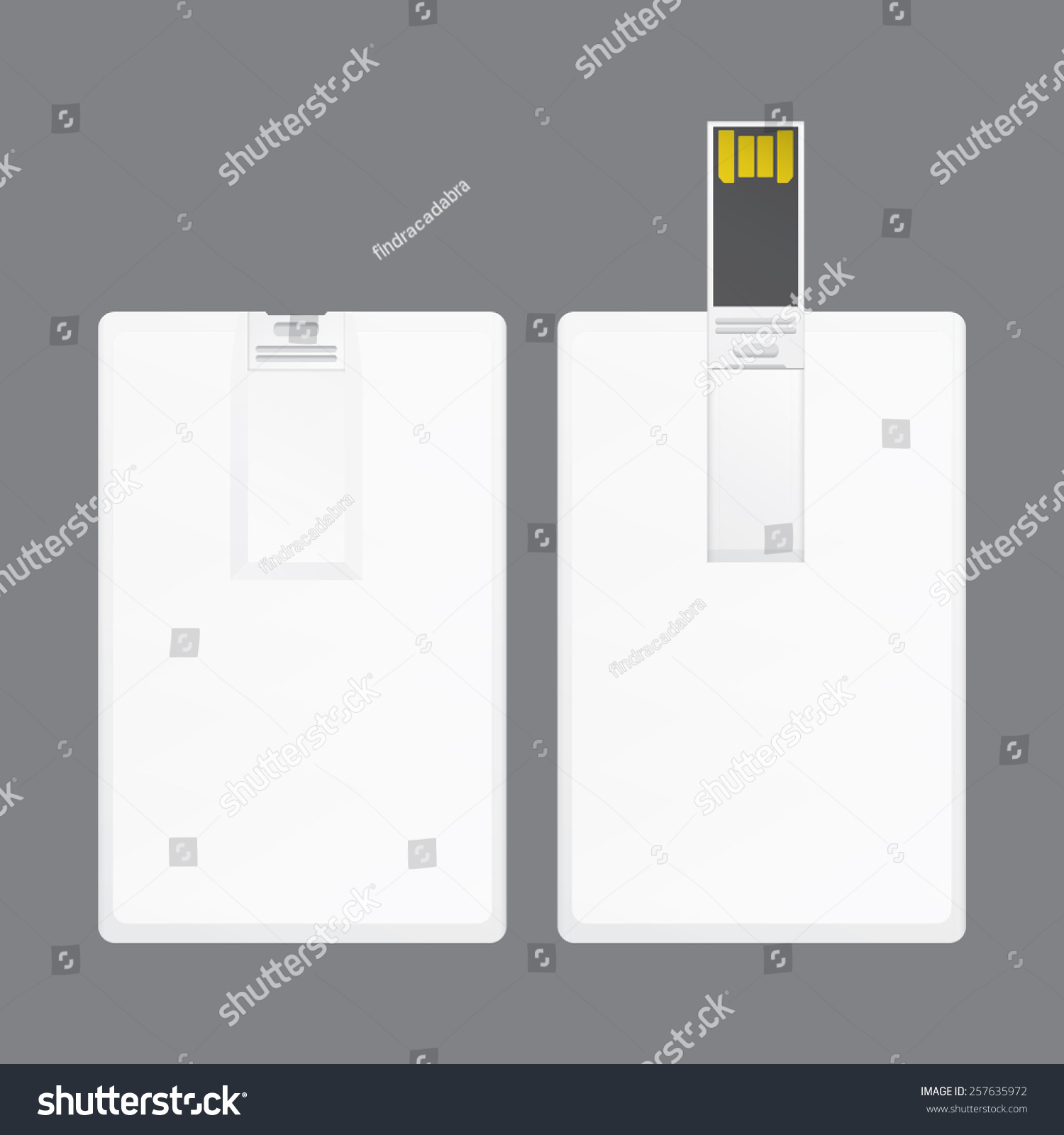 universal serial bus card template branding stock vector 257635972 shutterstock. Black Bedroom Furniture Sets. Home Design Ideas