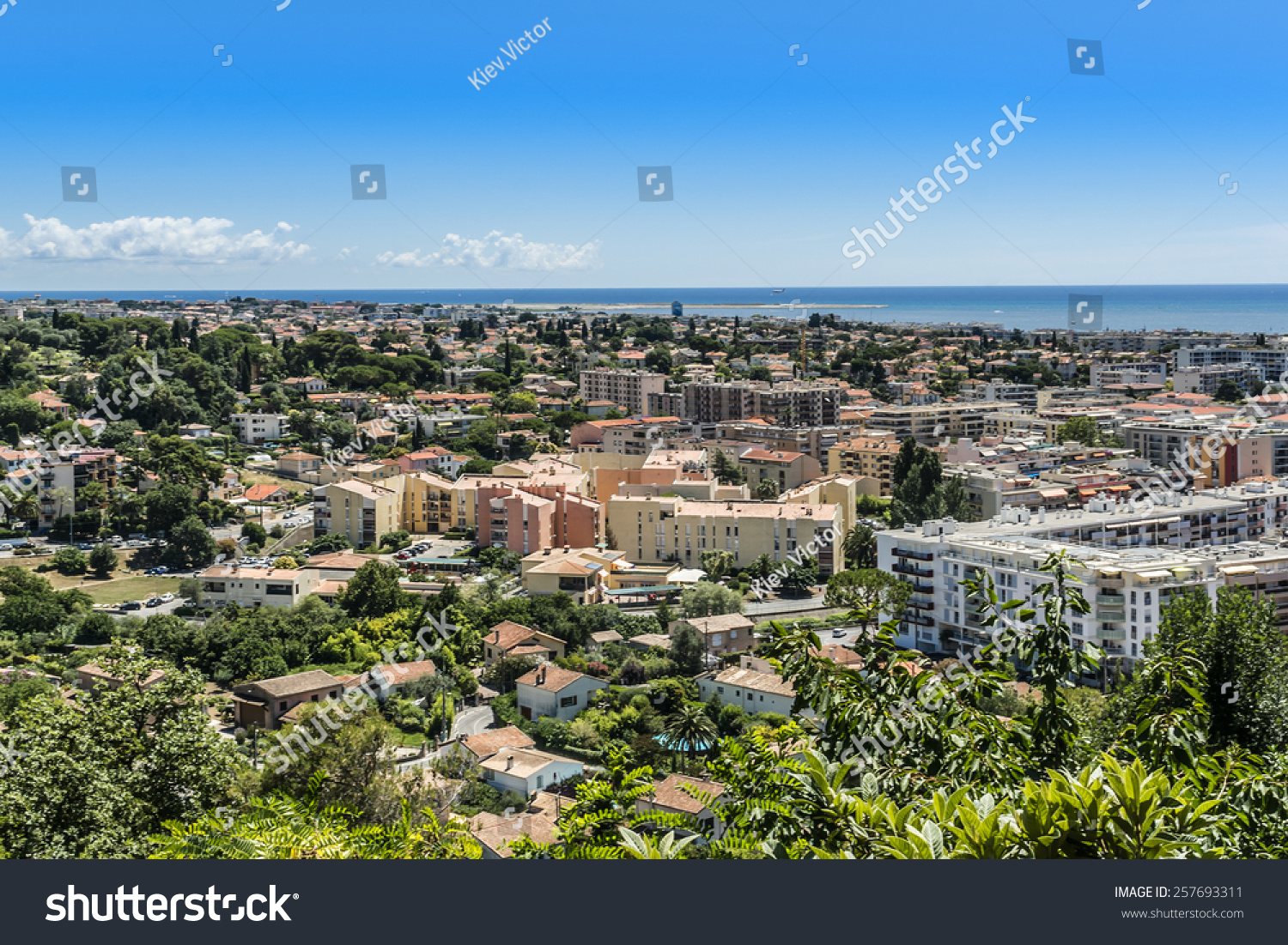 view of valley in cote dazur from cagnes sur mer cagnes sur mer between nice and cannes. Black Bedroom Furniture Sets. Home Design Ideas