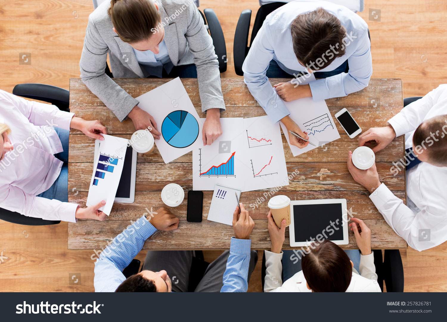 business people statistics team work concept stock photo  business people statistics and team work concept close up of creative team