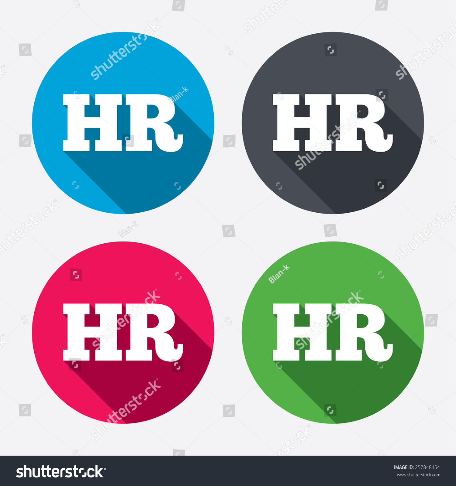human resources sign icon hr symbol stock vector 257848454