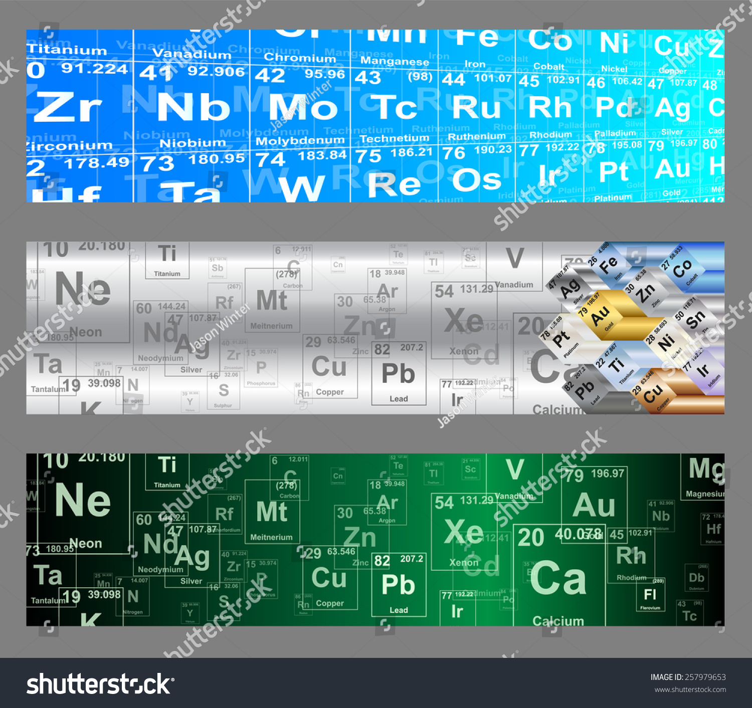 Chemical elements periodic table web banner stock vector 257979653 chemical elements periodic table web banner vector backgrounds gamestrikefo Images