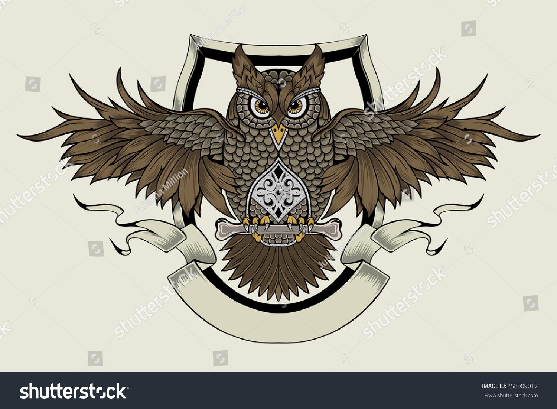 It Is An Owl A Symbol Of Wisdom Ez Canvas