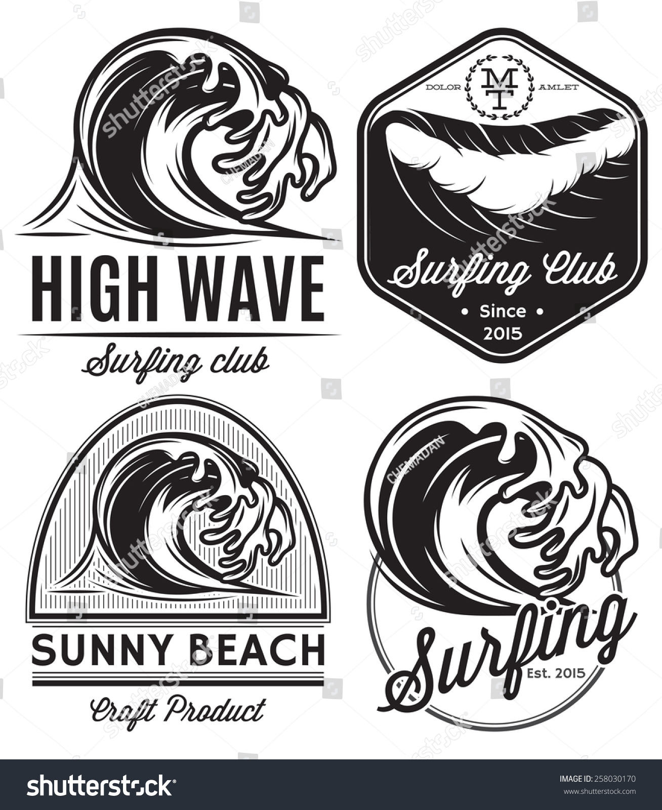 Vintage Beach Logos | www.imgkid.com - The Image Kid Has It!