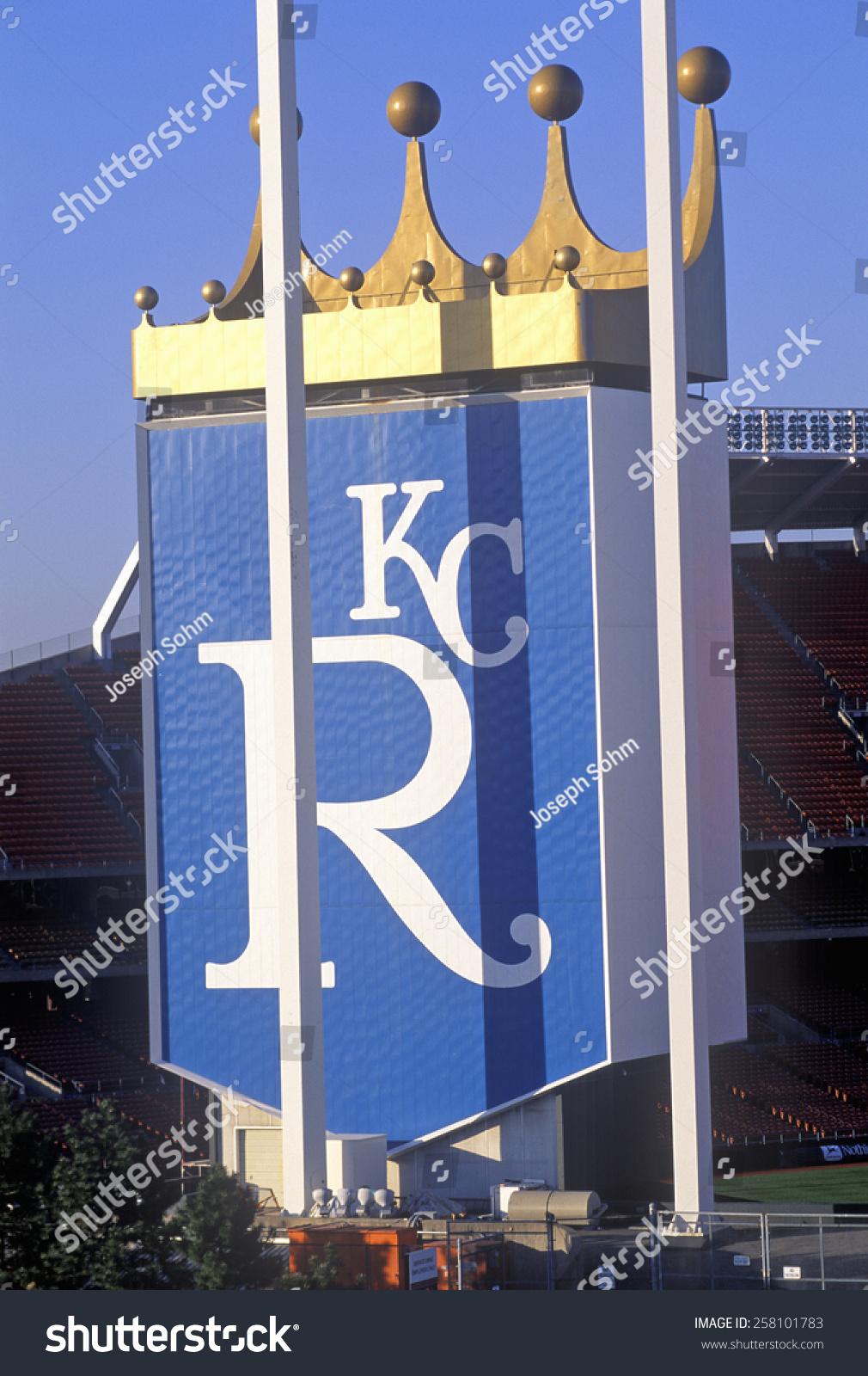 kansas city royals baseball stadium kansas stock photo 258101783 shutterstock. Black Bedroom Furniture Sets. Home Design Ideas