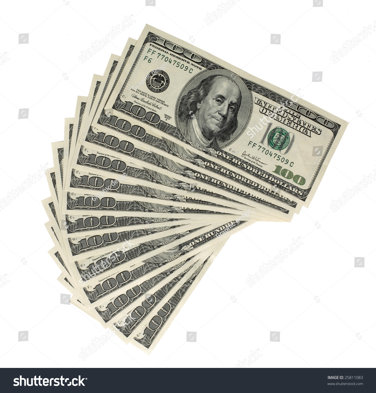 worksheet Money Bills american money 100 bills piled high stock photo 25811083 in and waiting to be picked