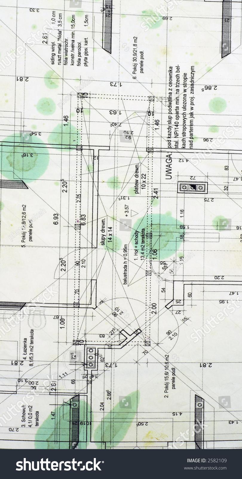 Old blueprint stock photo royalty free 2582109 shutterstock old blueprint malvernweather Images