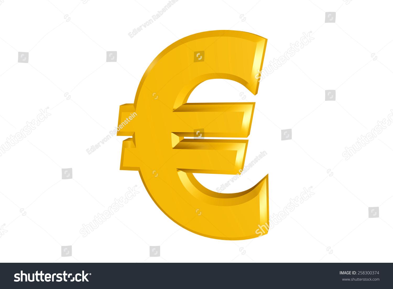 Euro Sign Ez Canvas