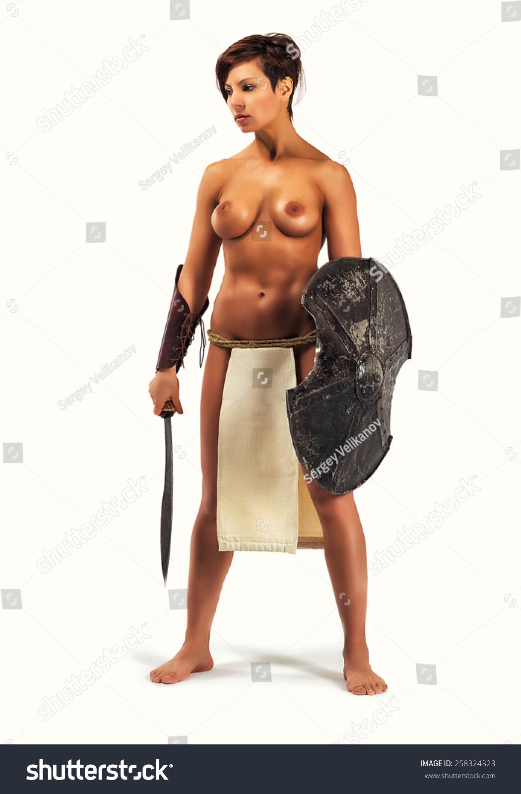 3d topless fantasy warrior women nsfw toons
