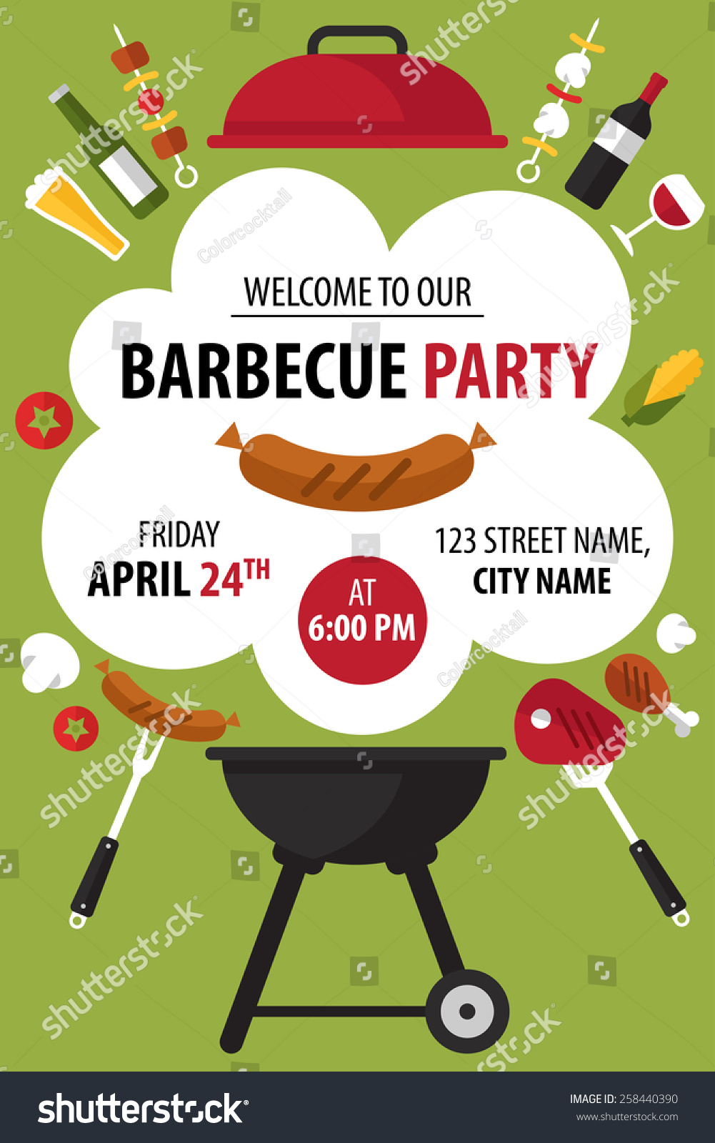 bbq time invitation pictures to pin on   pinsdaddy, party invitations