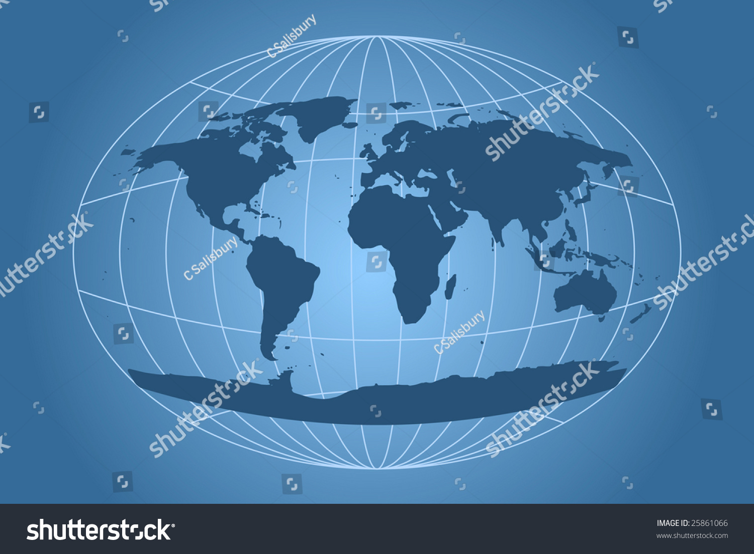 World map ovalshaped grid vectores en stock 25861066 shutterstock world map with oval shaped grid gumiabroncs Image collections