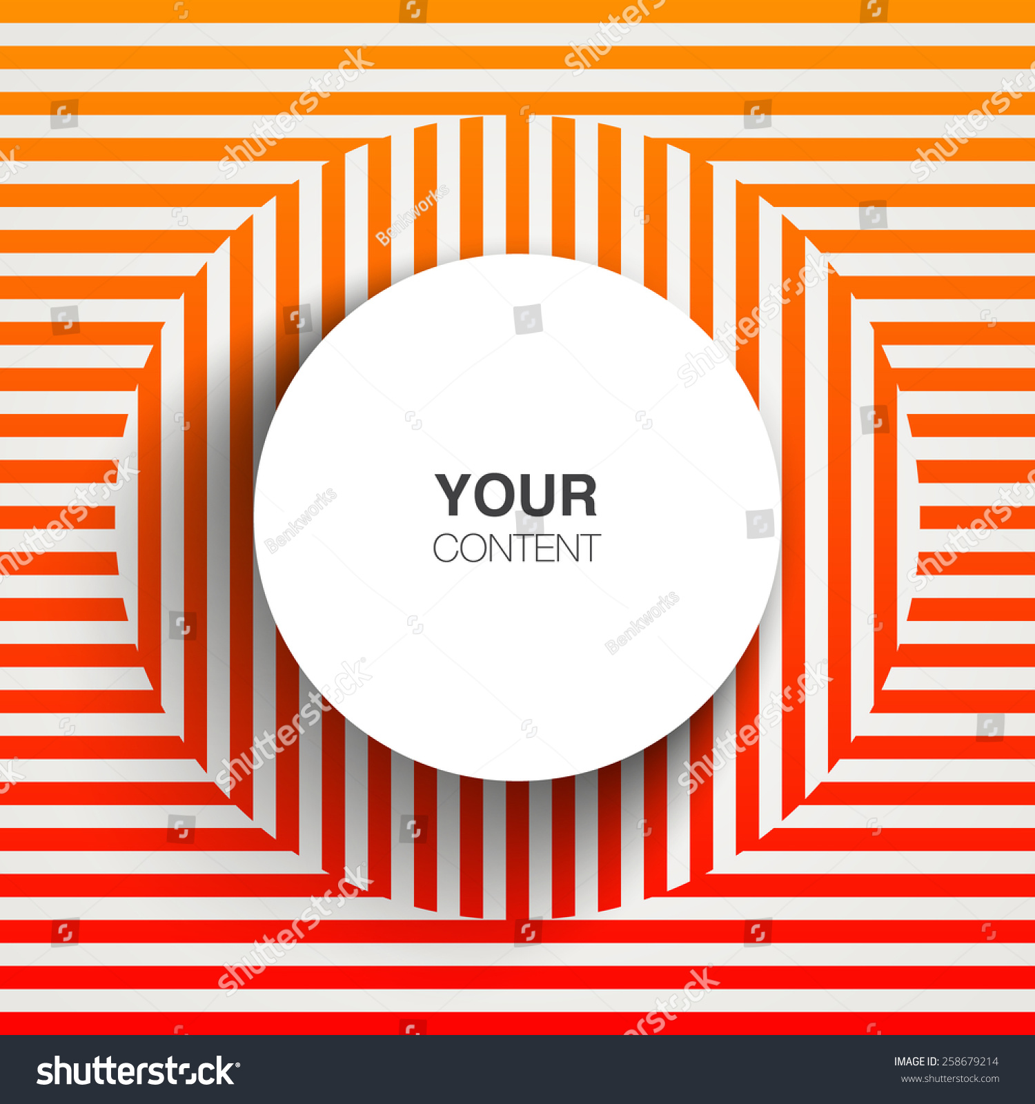 Text Box Design Abstract Orange Line Stock Vector Royalty Free Themed Circuit Board Drawing Clipart Illustration With Pattern Background Eps 10