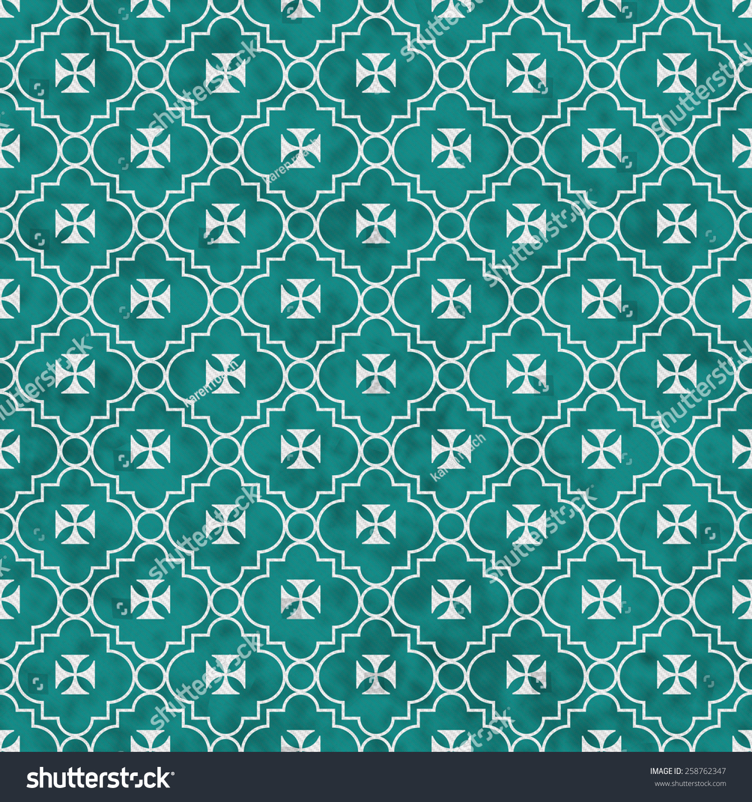 Teal white maltese cross symbol tile stock illustration 258762347 teal and white maltese cross symbol tile pattern repeat background that is seamless and repeats biocorpaavc