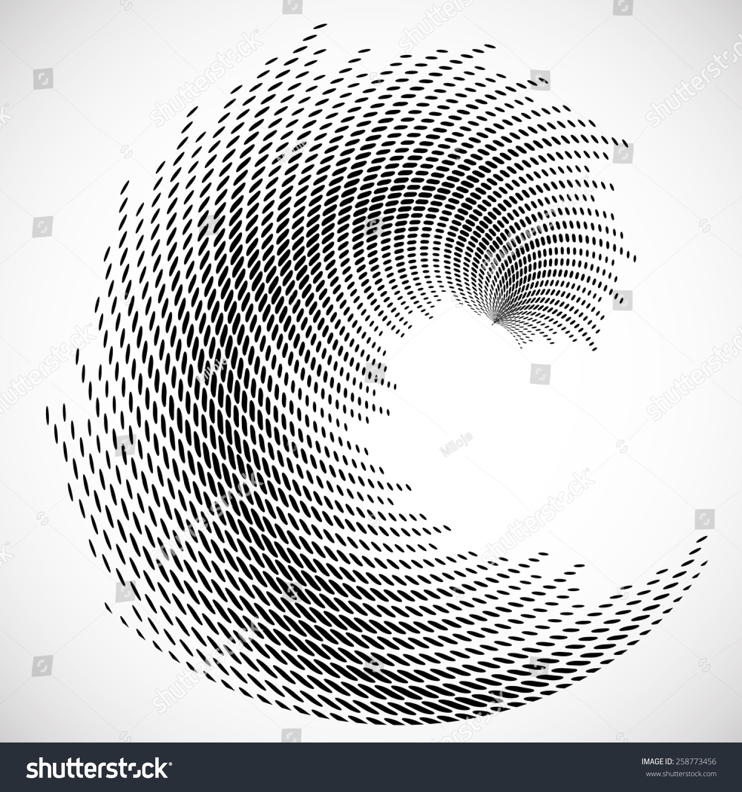 Line Art Vs Halftone : Halftone square vector equalizer abstract music stock