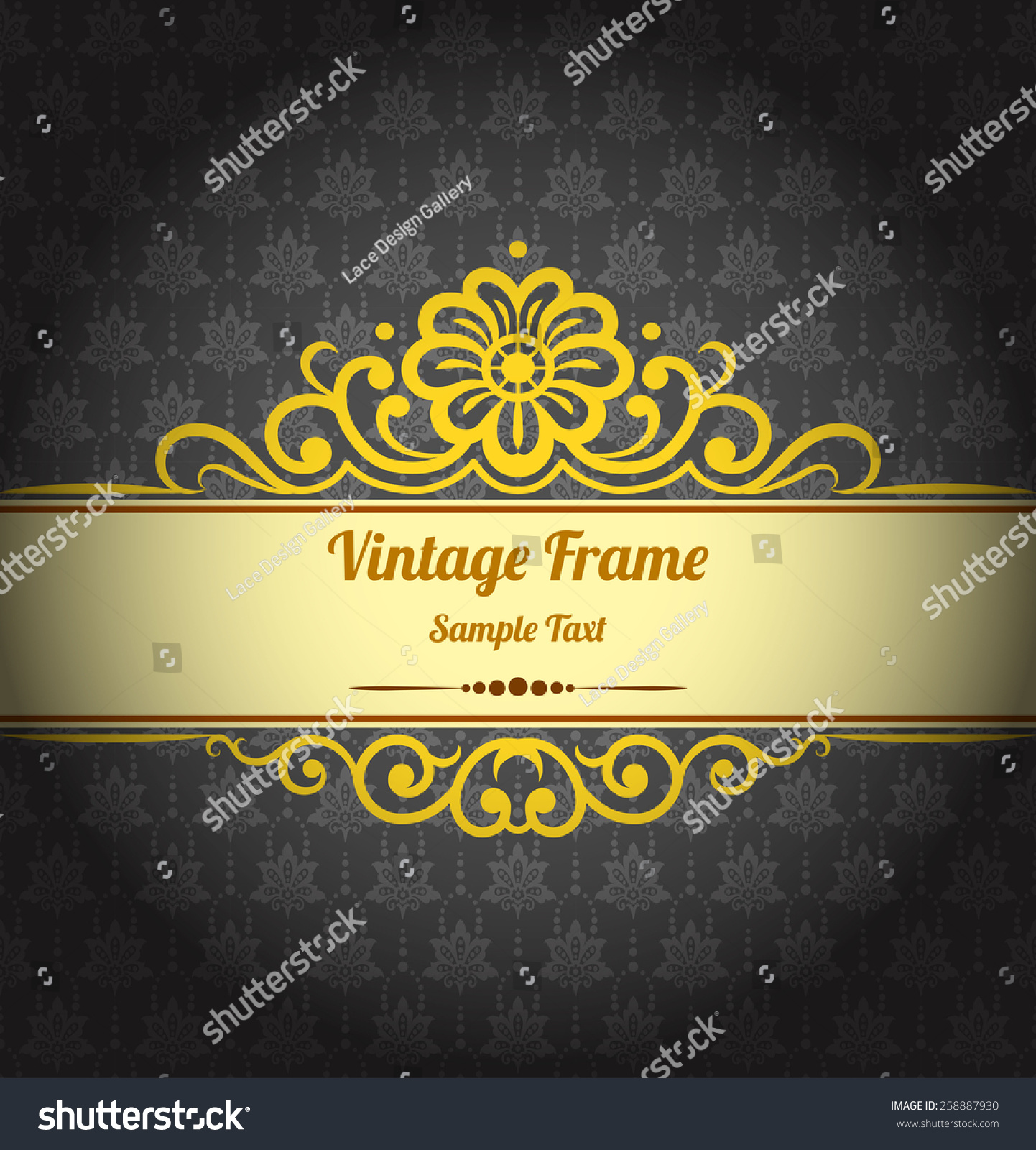Beautiful Background For Book Cover : Vintage background design elegant book cover stock vector