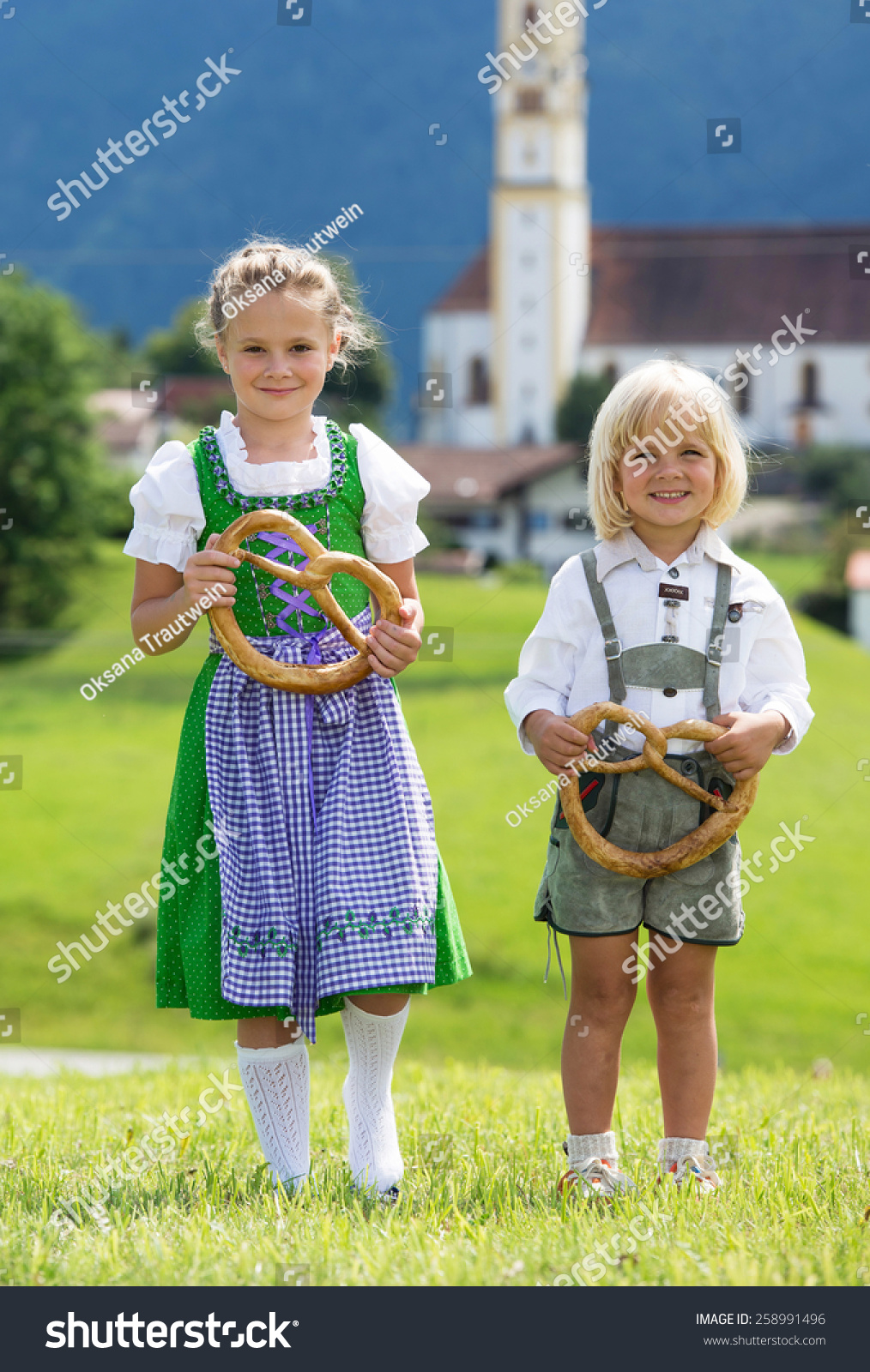 Traditional German Clothing Children