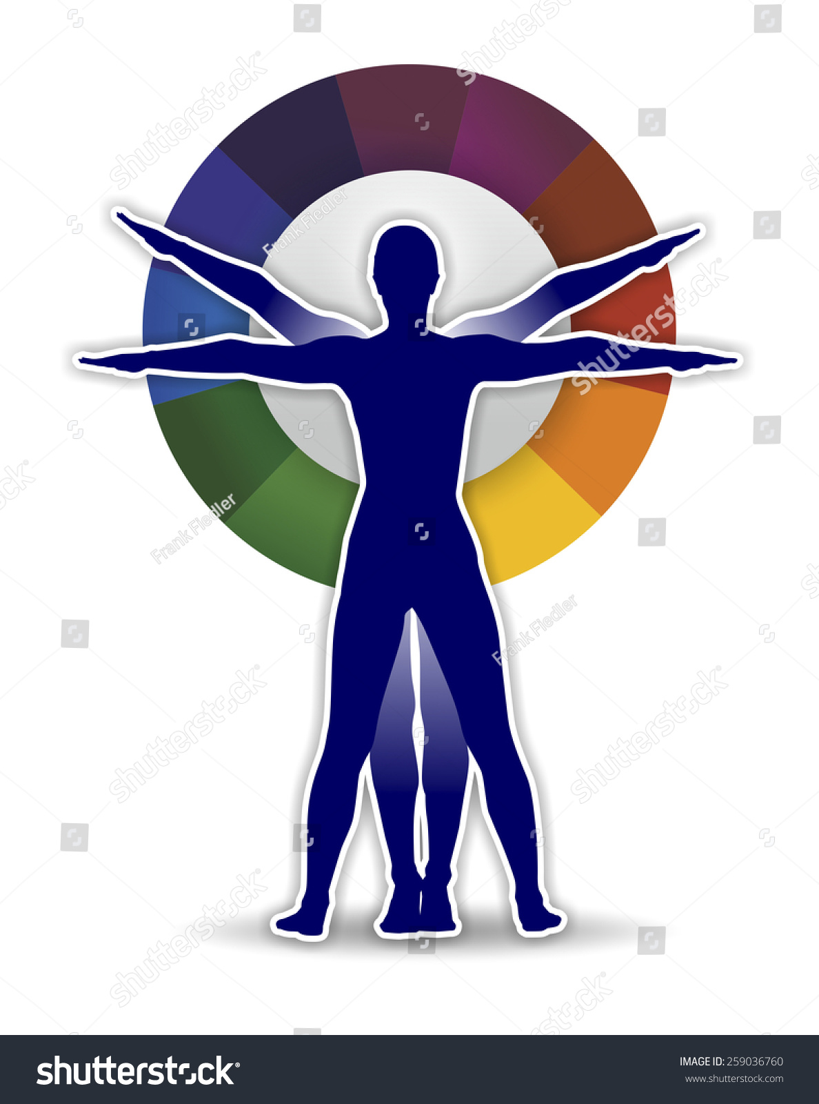Royalty Free Stock Illustration Of Study Human Body Proportions