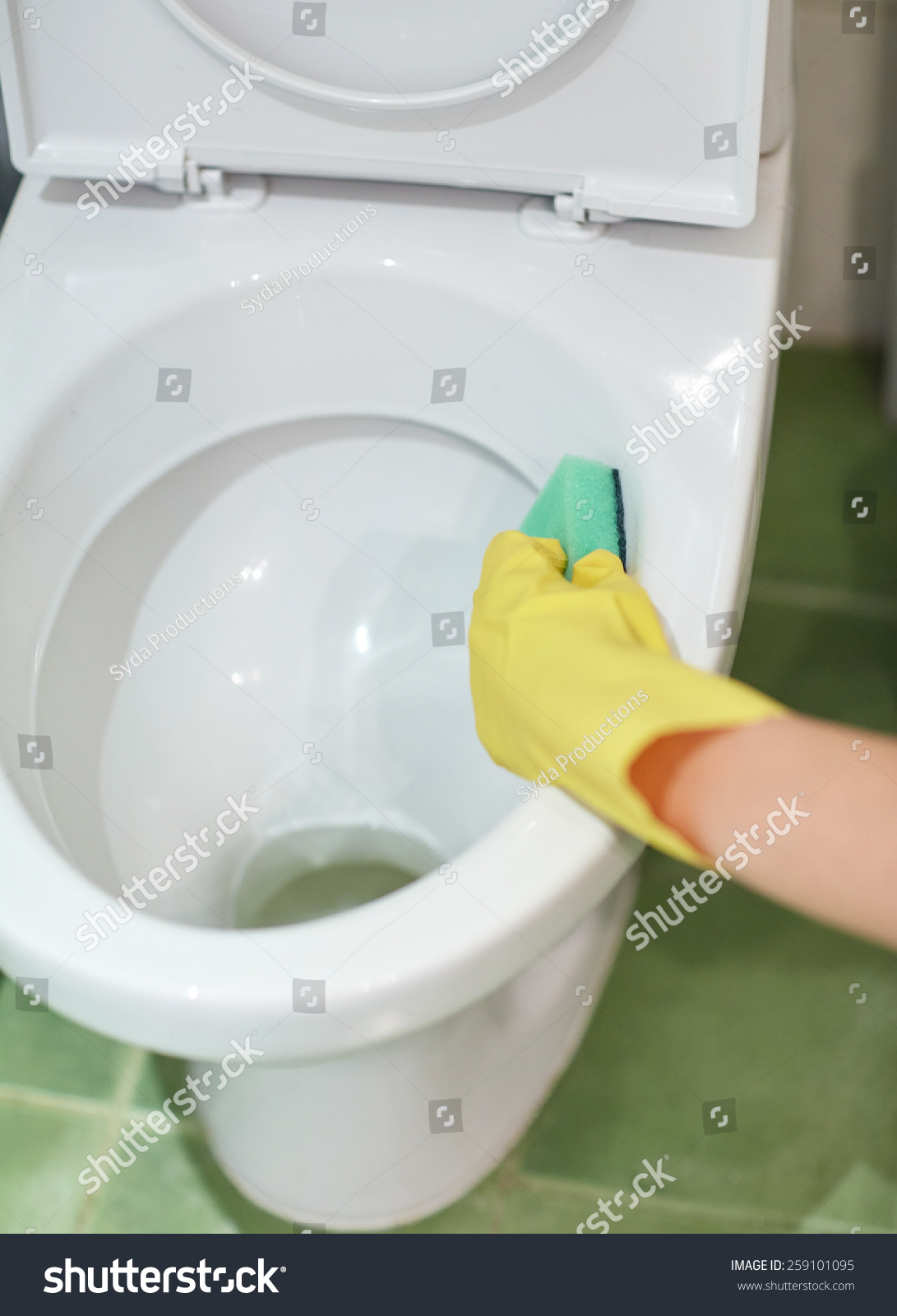 People Housework Housekeeping Concept Close Hand Stock Photo ...