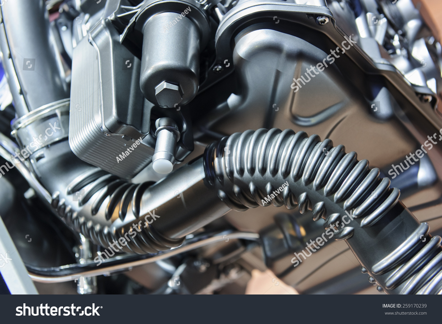 Car Engine Concept Modern Automobile Motor Stock Photo (Safe to Use ...