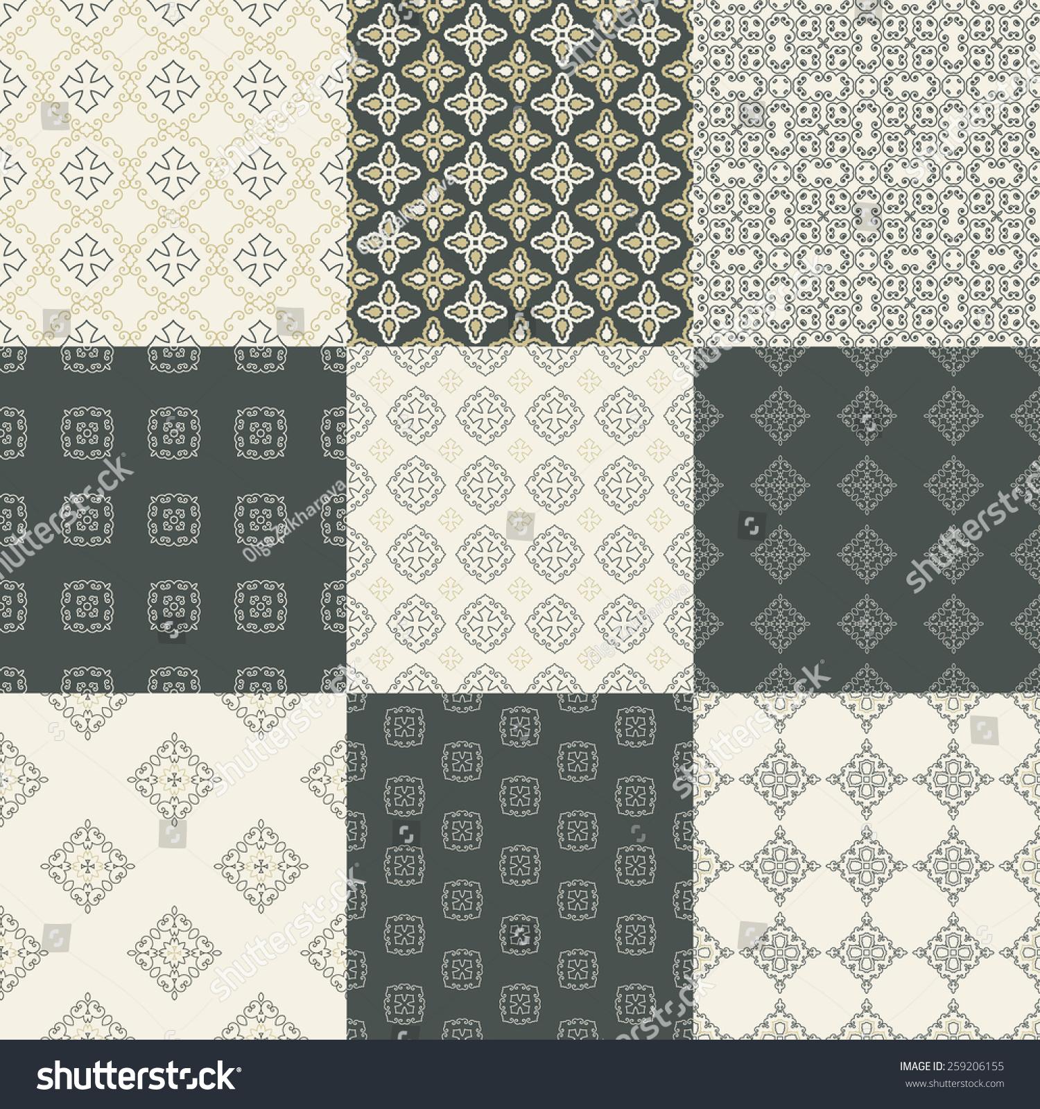 White Geometric Texture Vector Background Stock Vector