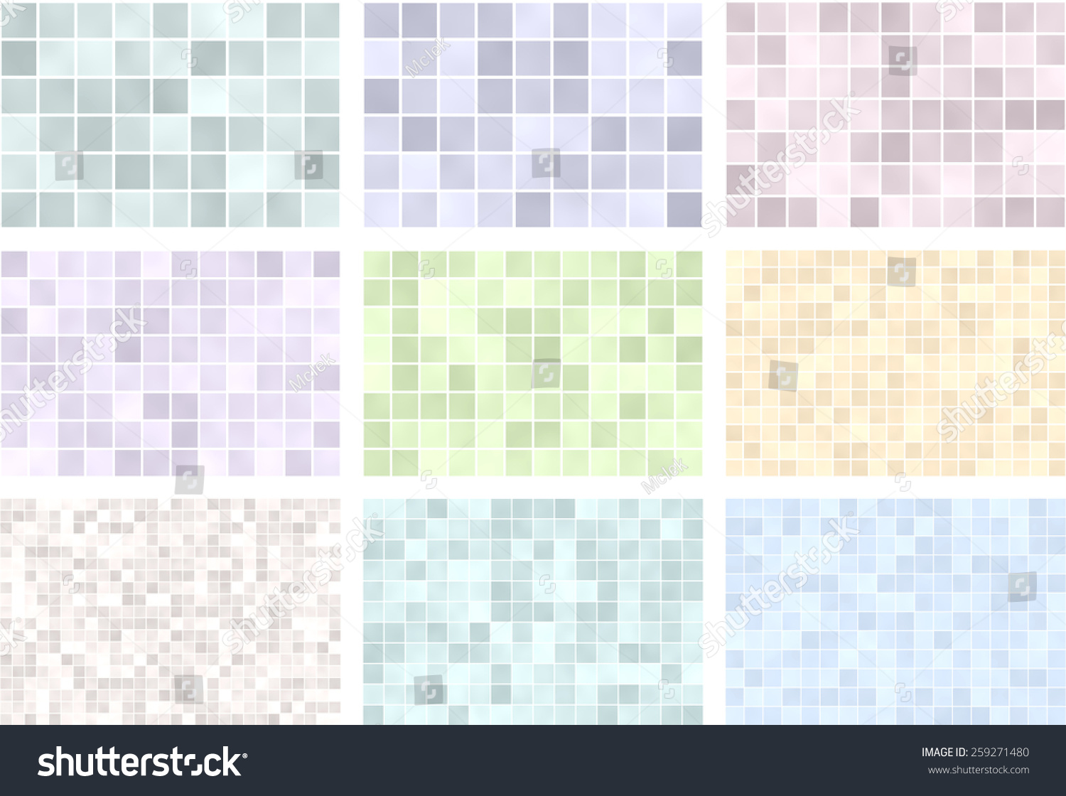 Royalty Free Stock Illustration of Seamless Tiles Pattern Background ...