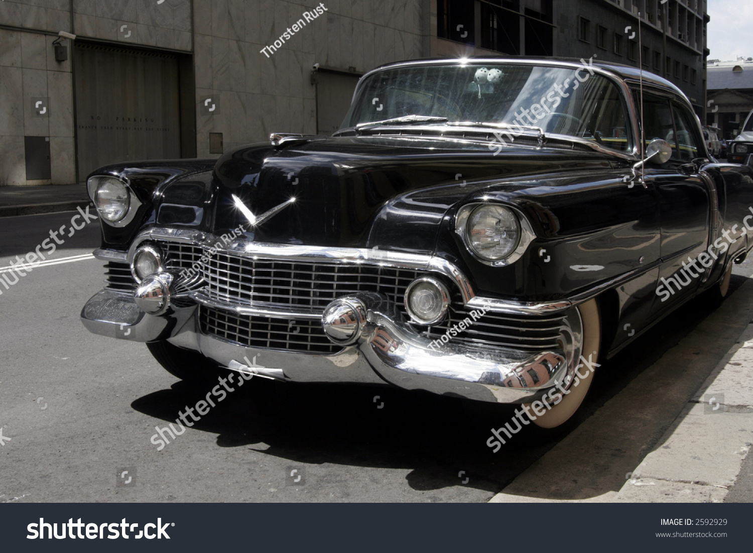 Old Black Vintage Classic Old American Stock Photo 2592929 ...