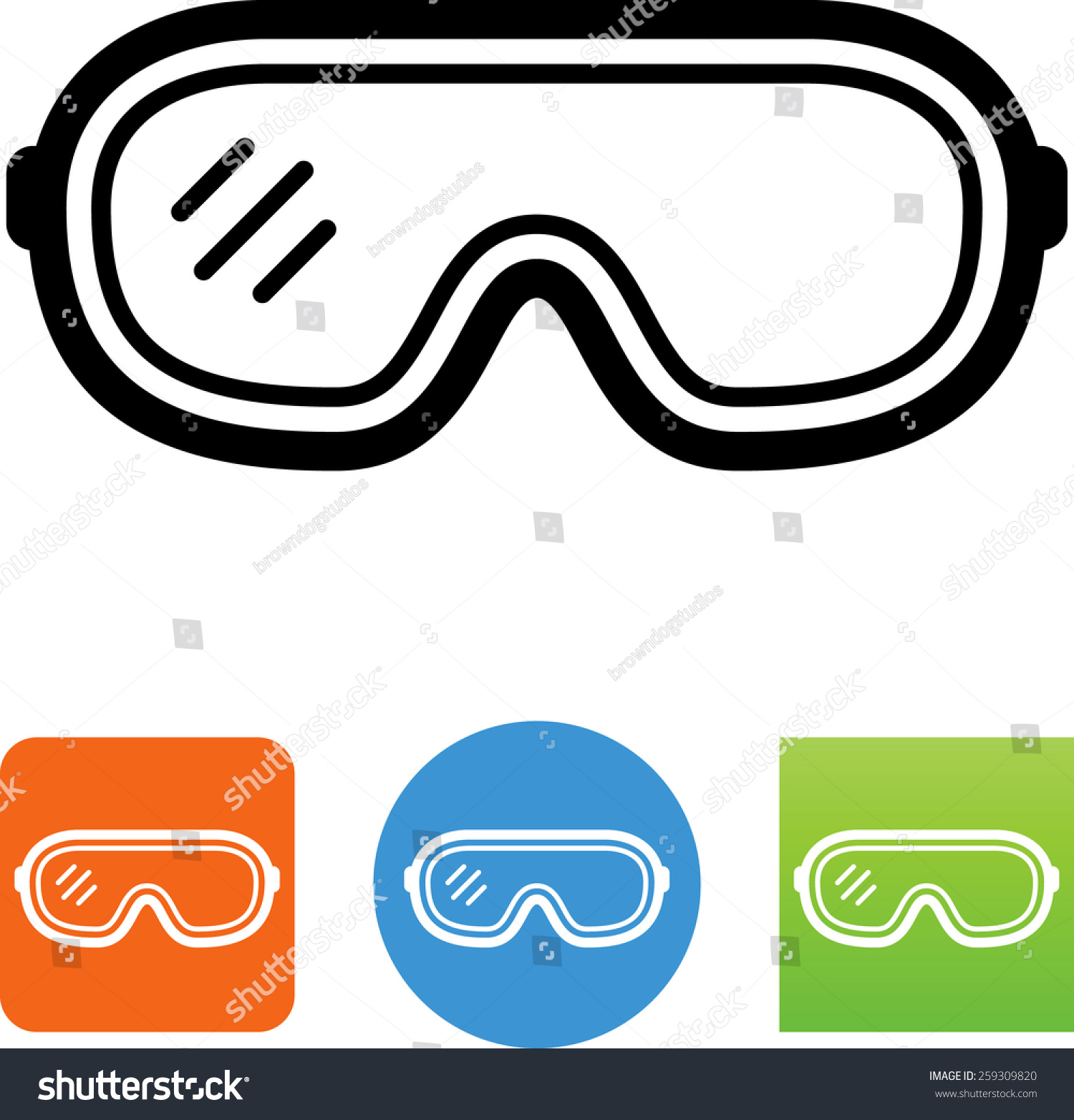 the gallery for gt science safety symbols goggles